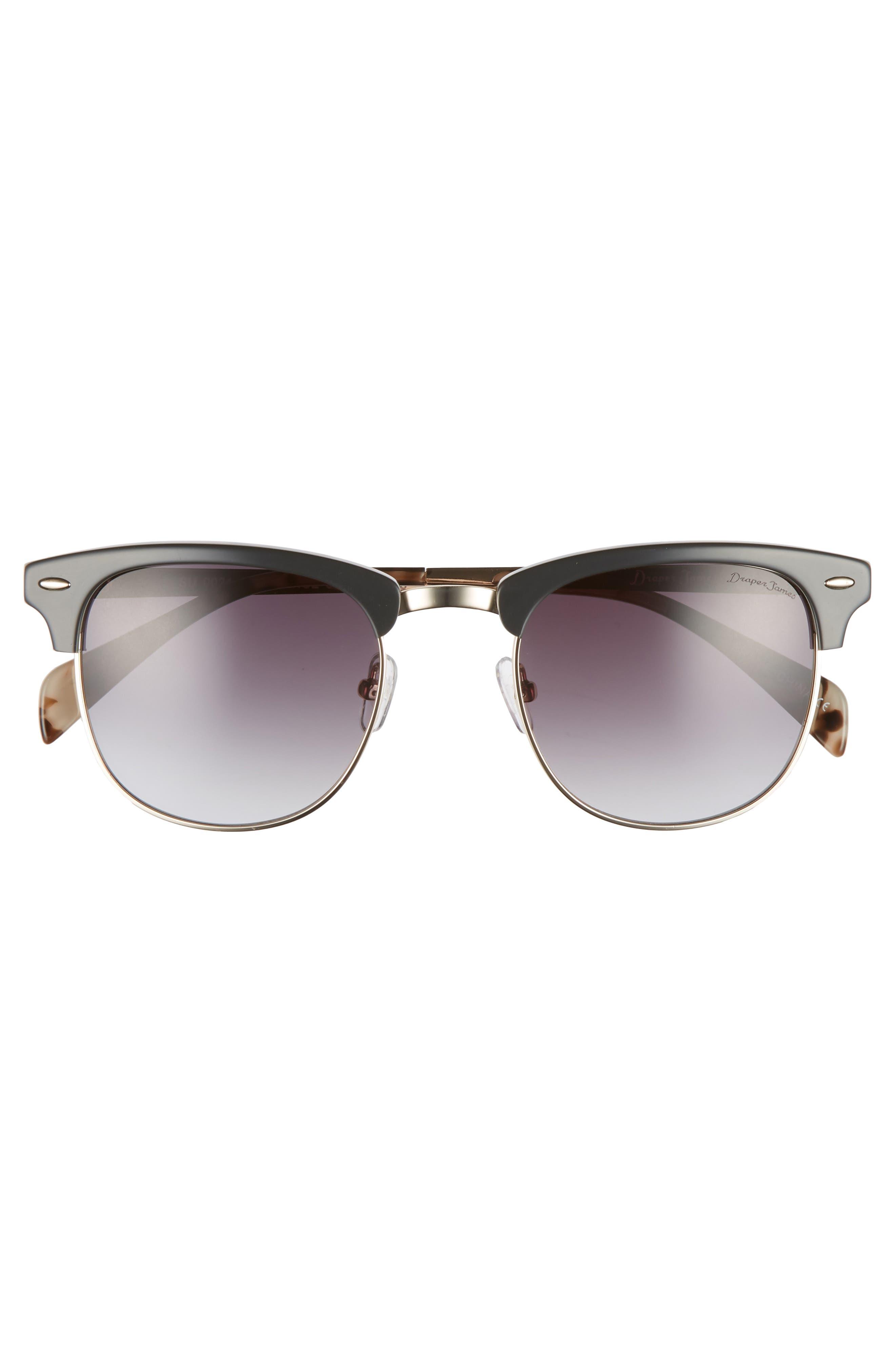 55mm Sunglasses,                             Alternate thumbnail 3, color,                             GREY