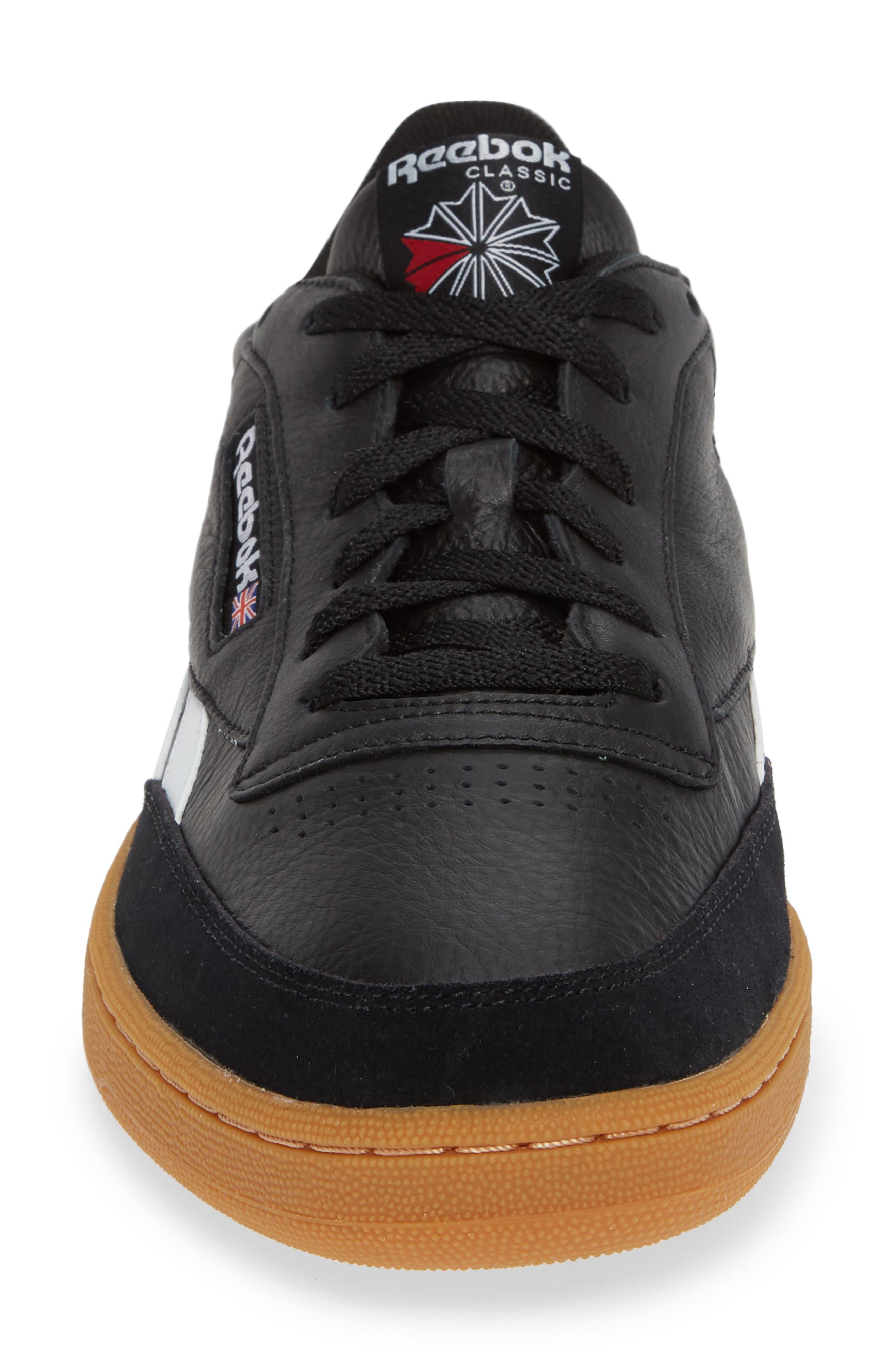 Revenge Plus Sneaker,                             Alternate thumbnail 4, color,                             BLACK/ WHITE/ GUM