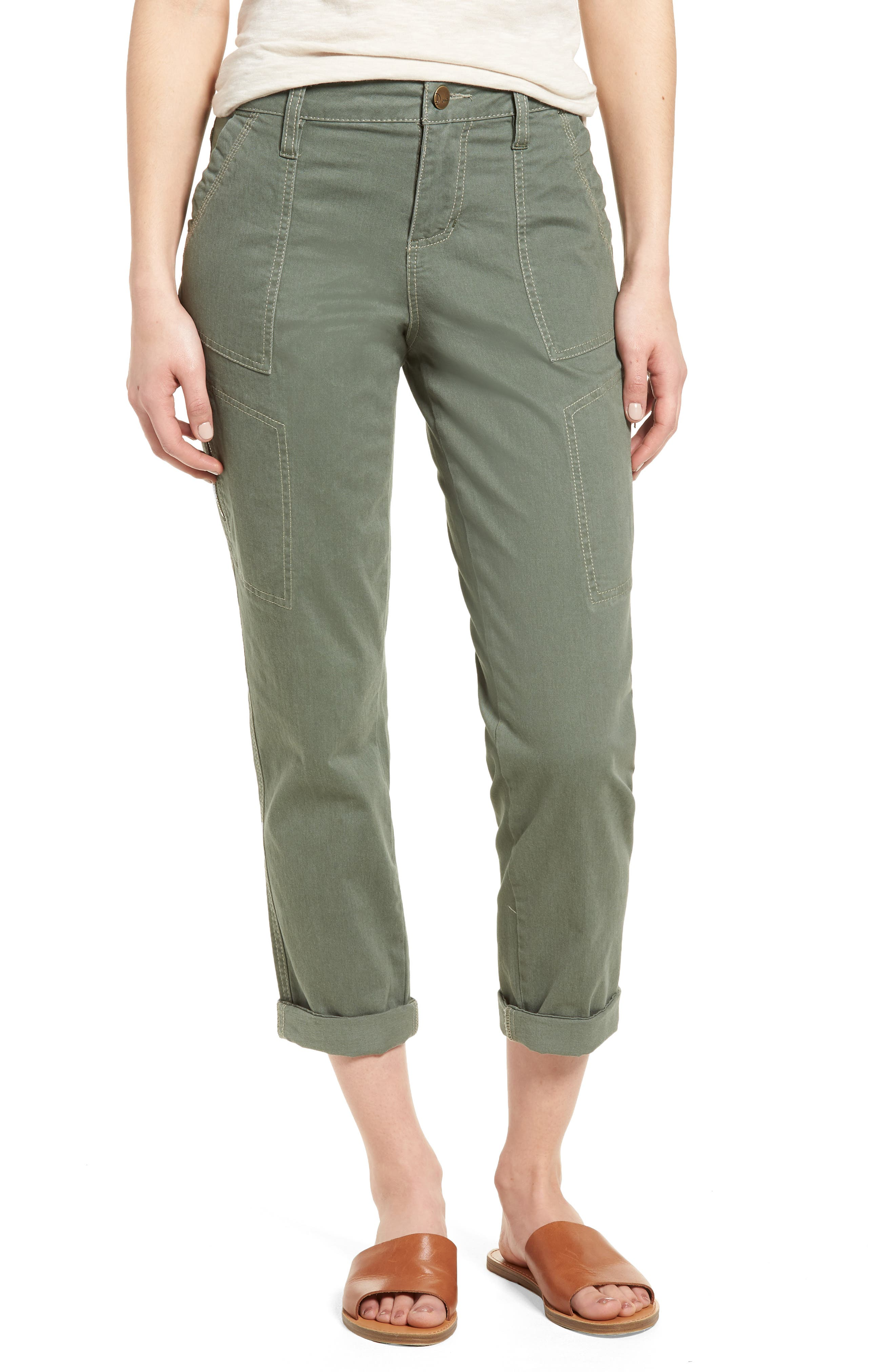 Gable Stretch Twill Utility Pants,                             Main thumbnail 2, color,