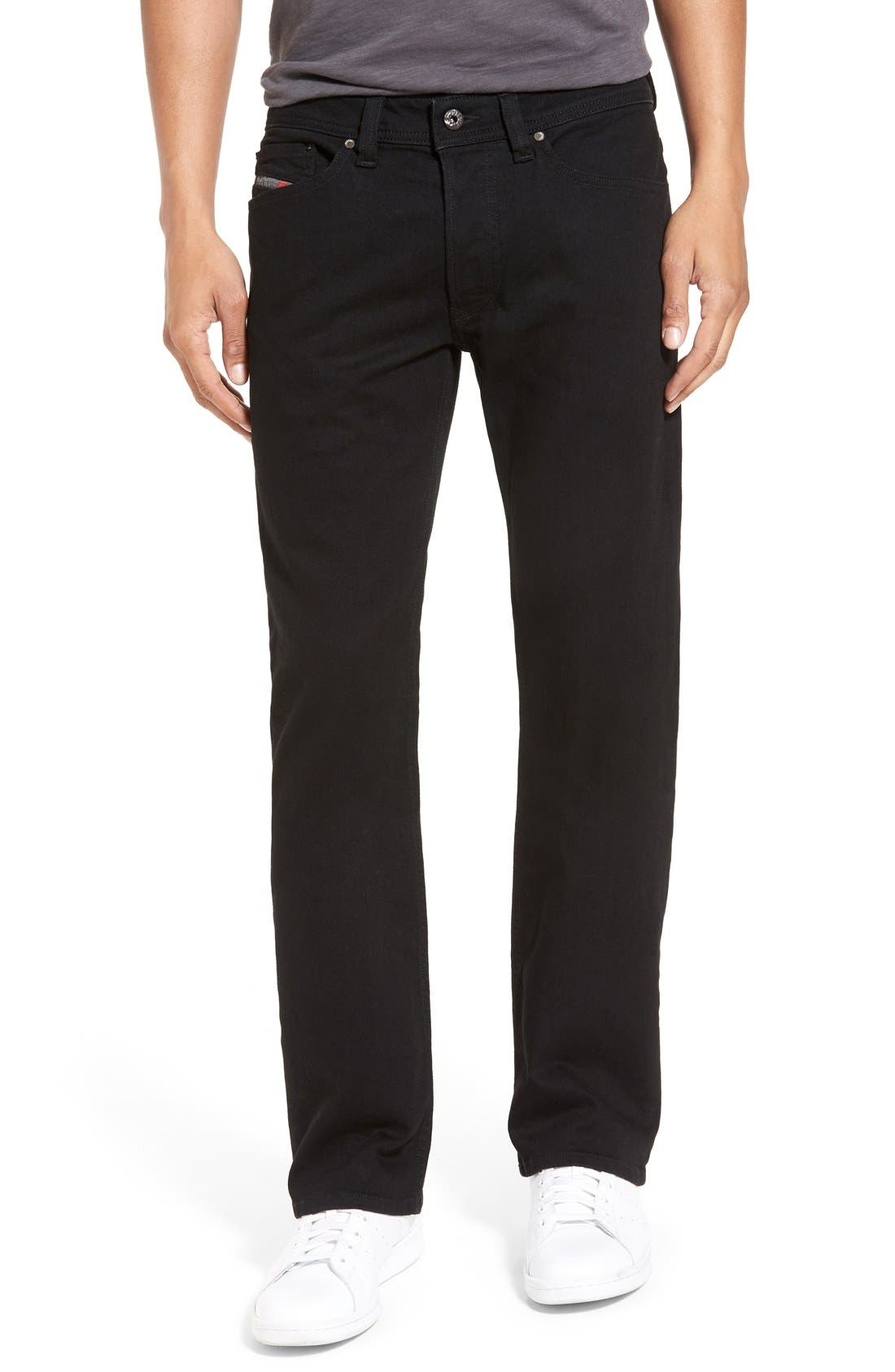 'Viker' Straight Fit Jeans,                             Main thumbnail 1, color,                             008