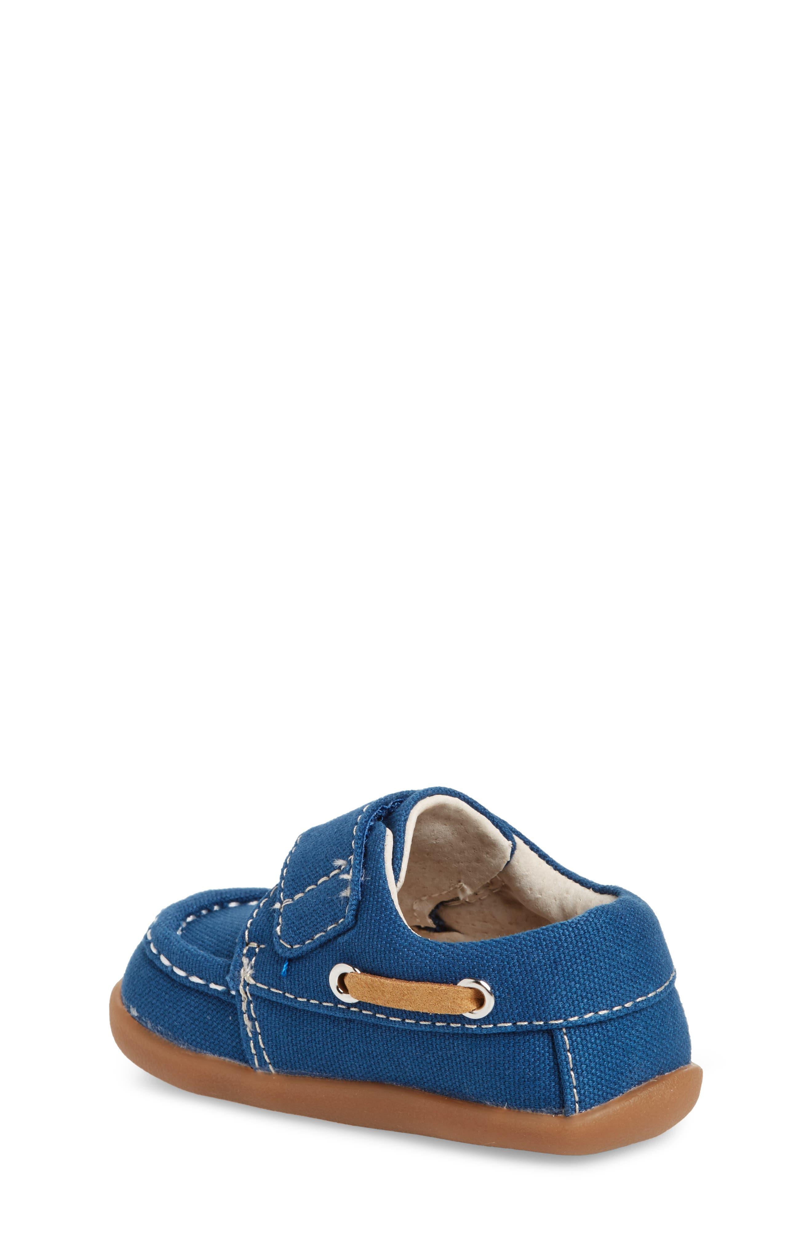 Arthur Sneaker,                             Alternate thumbnail 2, color,                             BLUE CANVAS