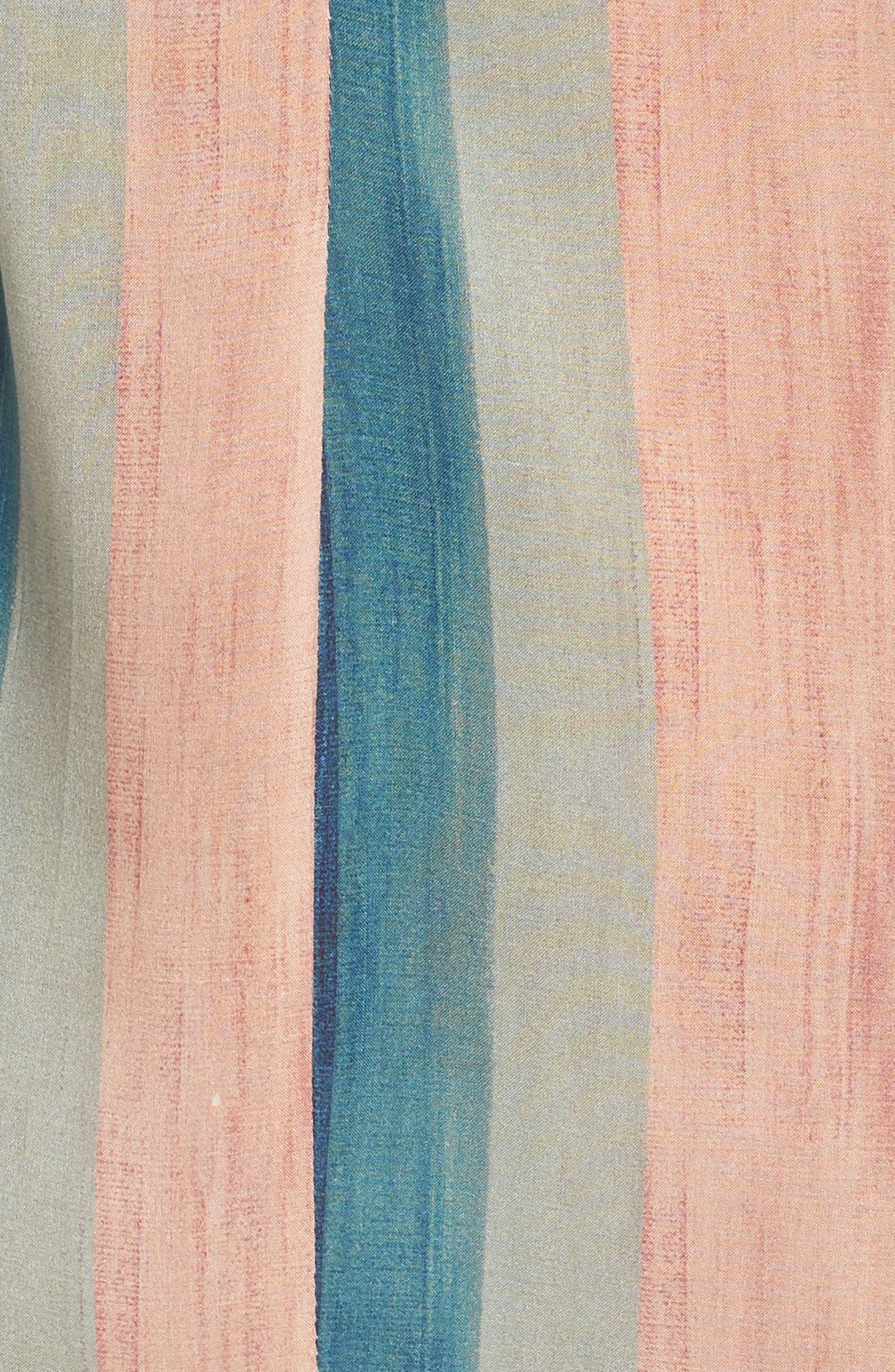 Mani Cecile Cover-Up Caftan,                             Alternate thumbnail 5, color,                             400