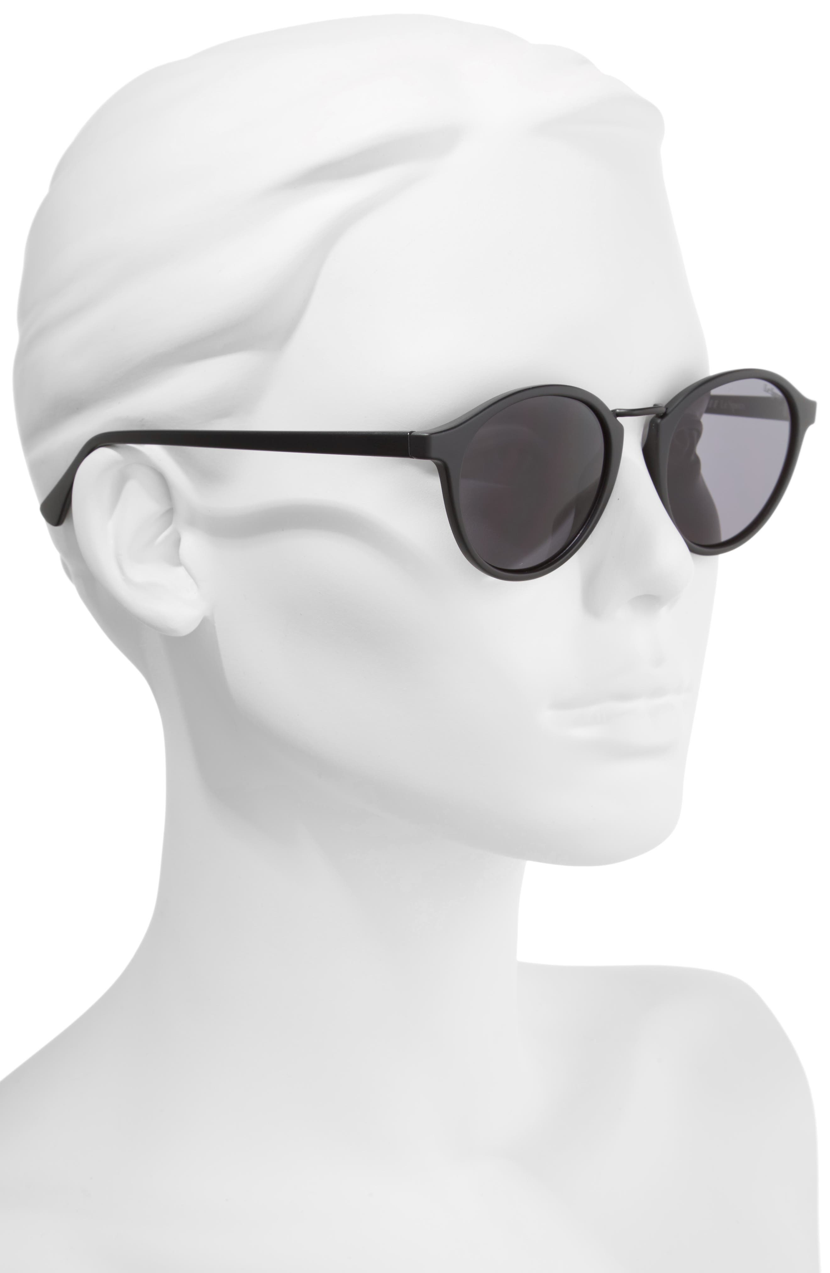 Paradox 49mm Oval Sunglasses,                             Alternate thumbnail 2, color,                             001