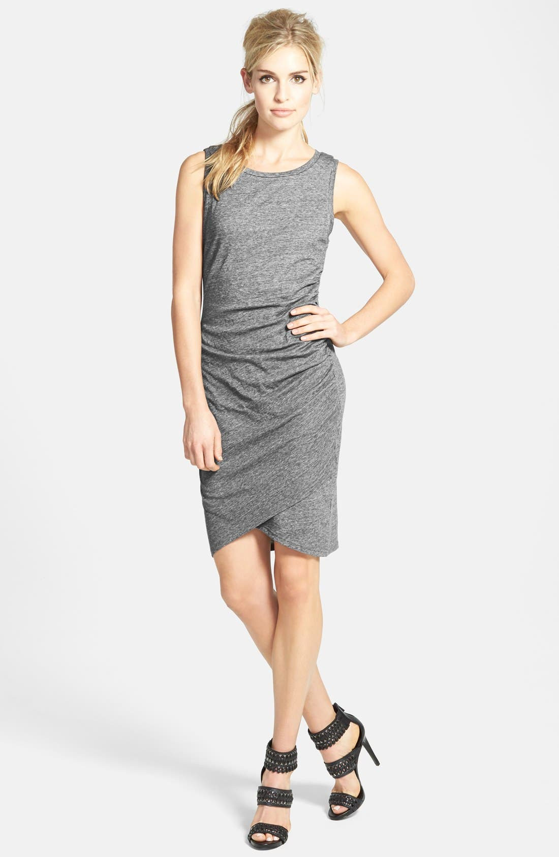 Ruched Body-Con Tank Dress,                             Main thumbnail 21, color,