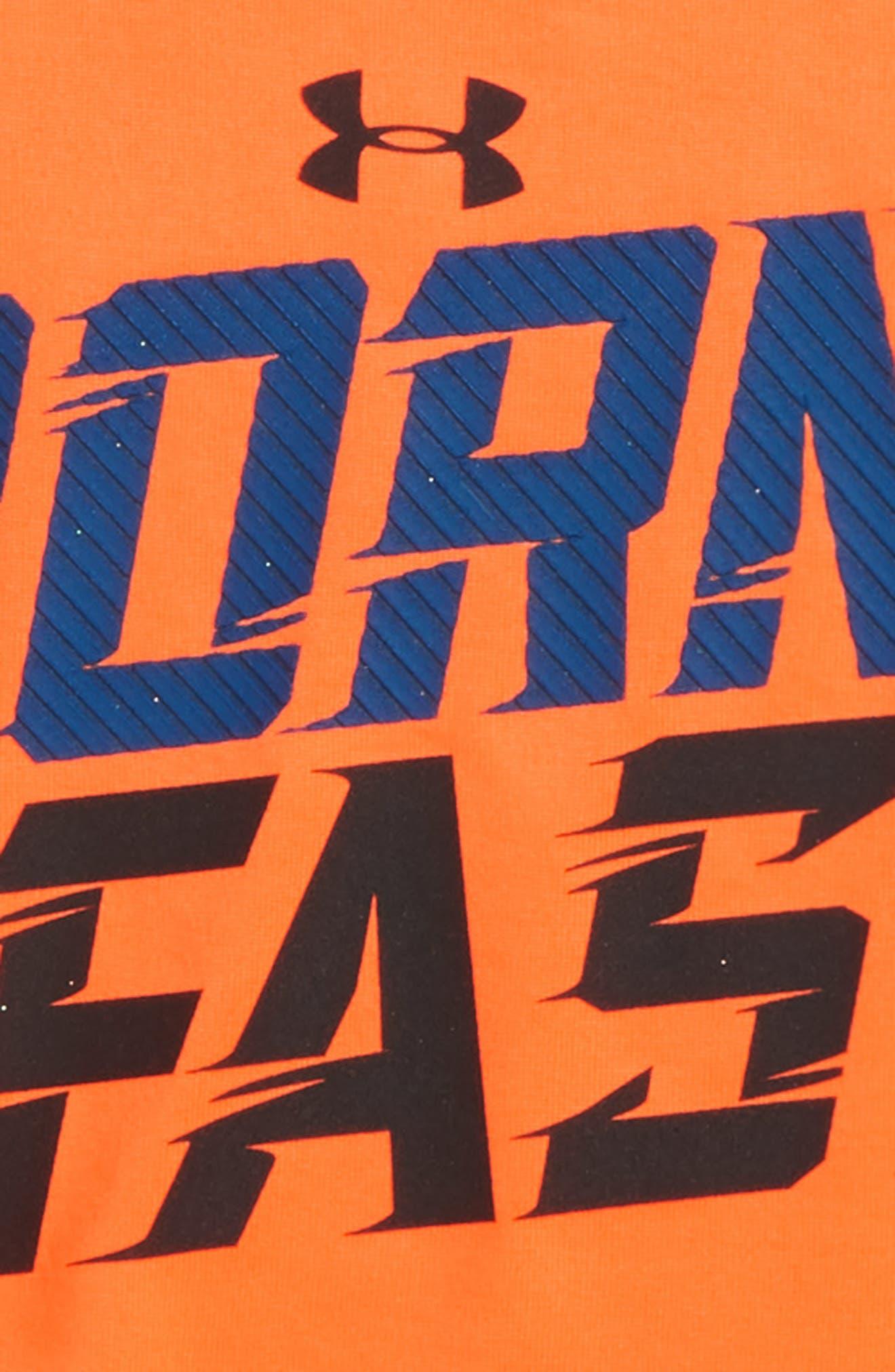 Born Fast HeatGear<sup>®</sup> T-Shirt,                             Alternate thumbnail 2, color,                             800