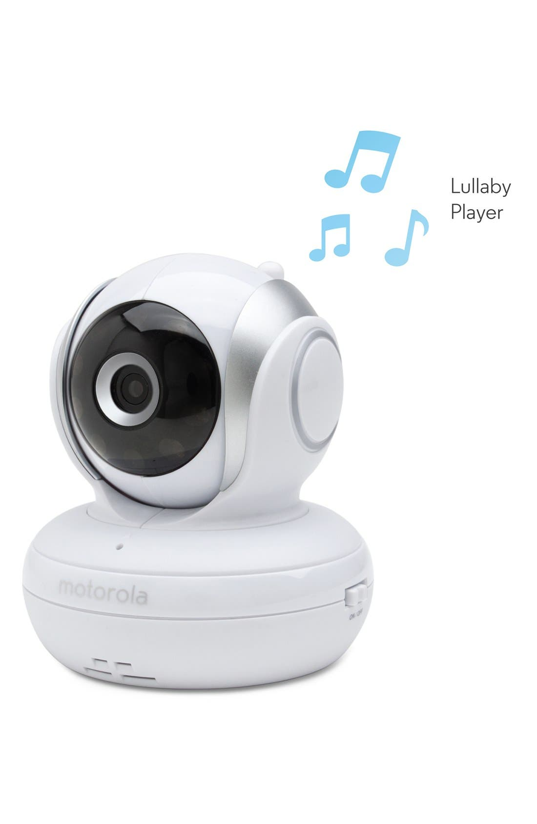 MBP 33S Wireless Digital Video Baby Monitor,                             Alternate thumbnail 2, color,                             WHITE/ SILVER TRIM