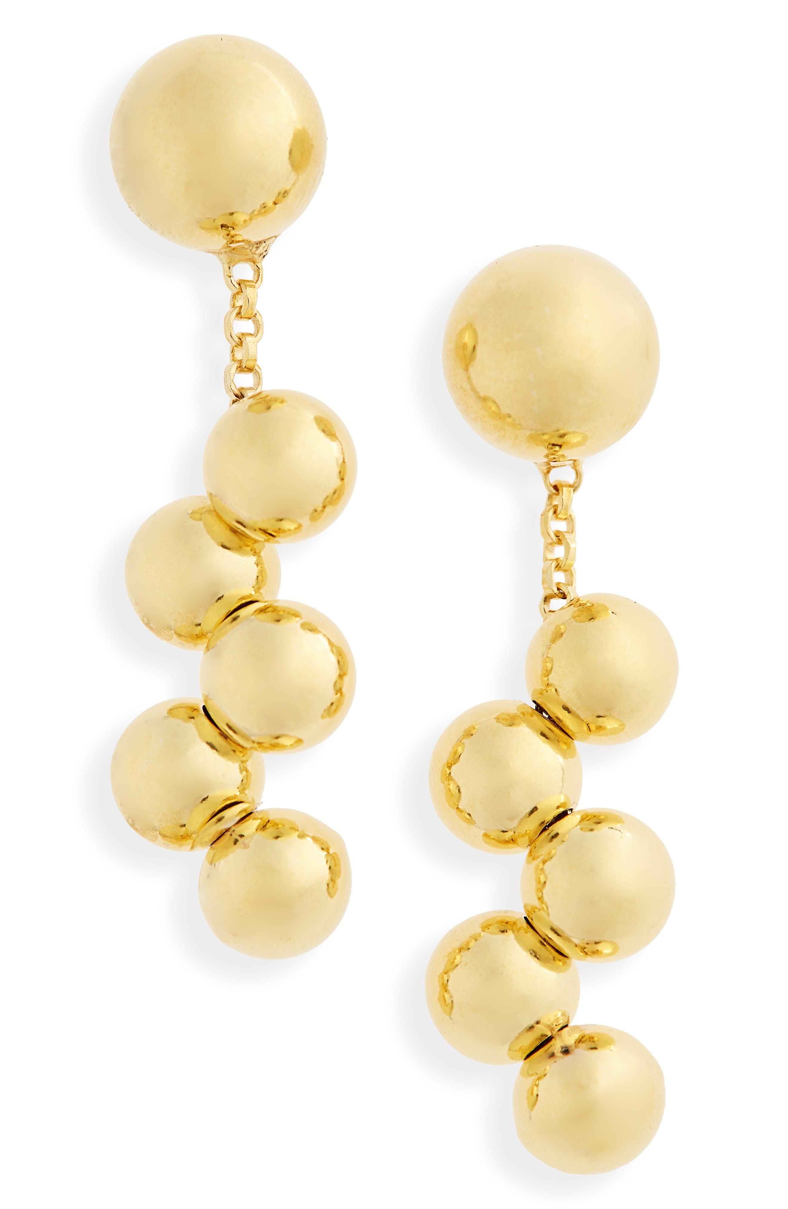 Dew Long Drop Earrings,                             Main thumbnail 1, color,