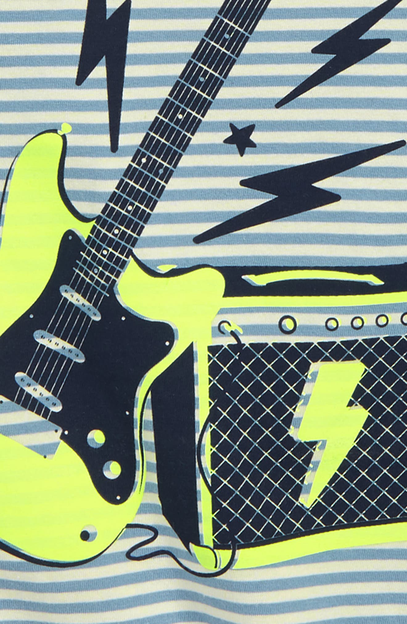 Stripy Guitar T-Shirt,                             Alternate thumbnail 2, color,                             424