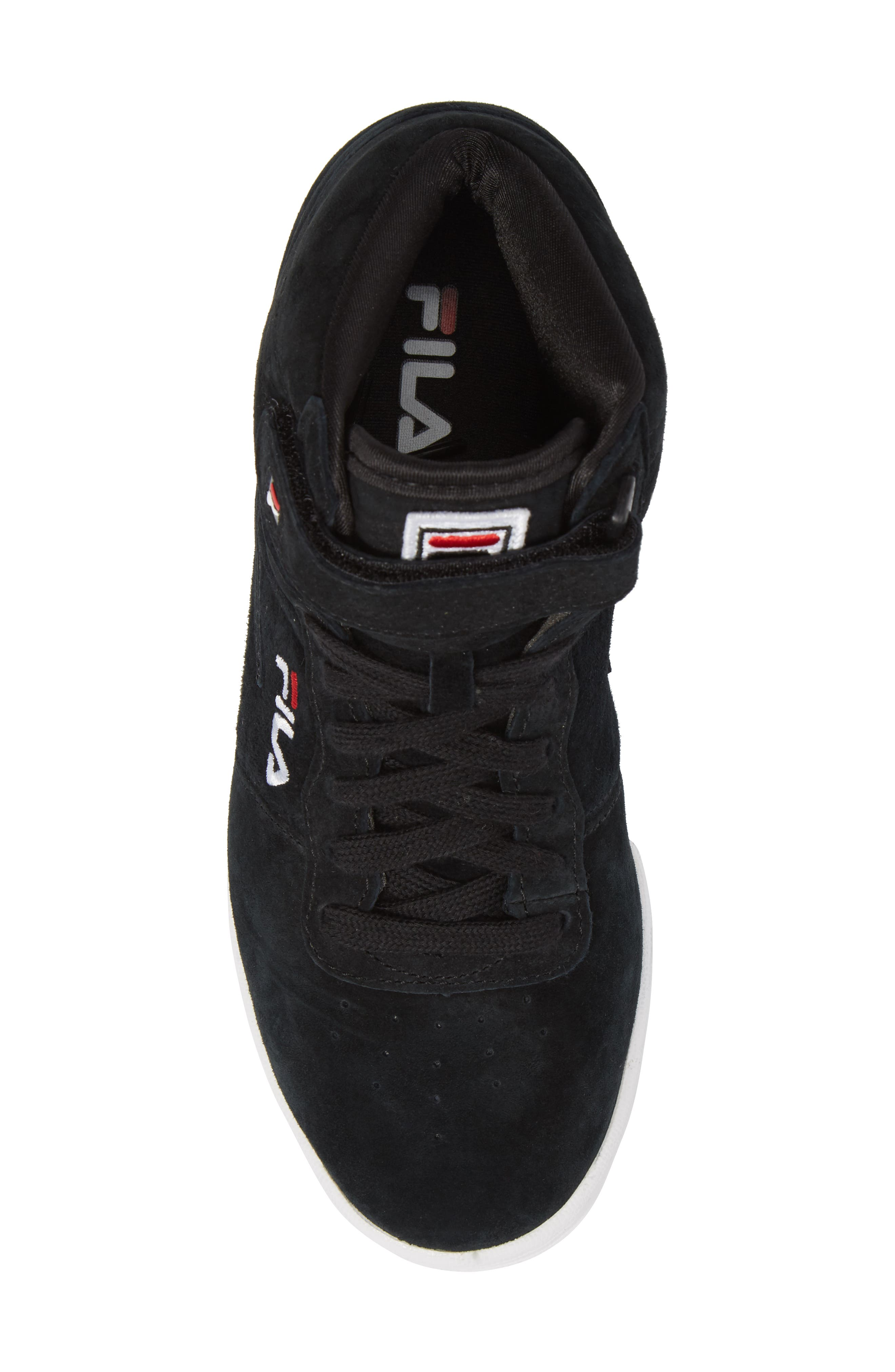 F-13 Premium Mid Top Sneaker,                             Alternate thumbnail 5, color,                             001