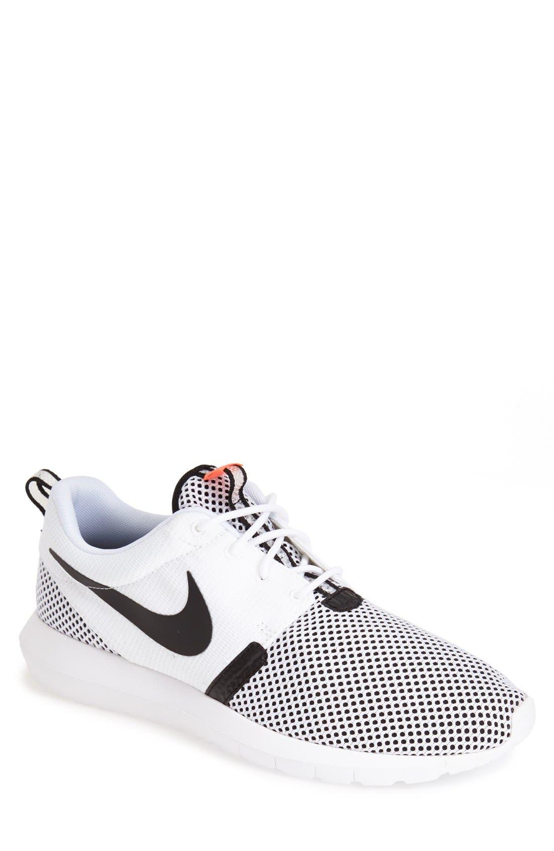 'Roshe Run NM Breeze' Sneaker, Main, color, 100