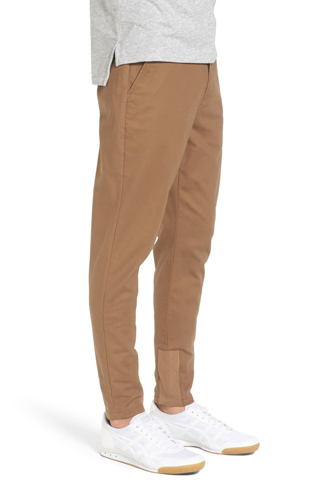 'Sharpshot' Slouchy Skinny Fit Chinos,                             Alternate thumbnail 14, color,