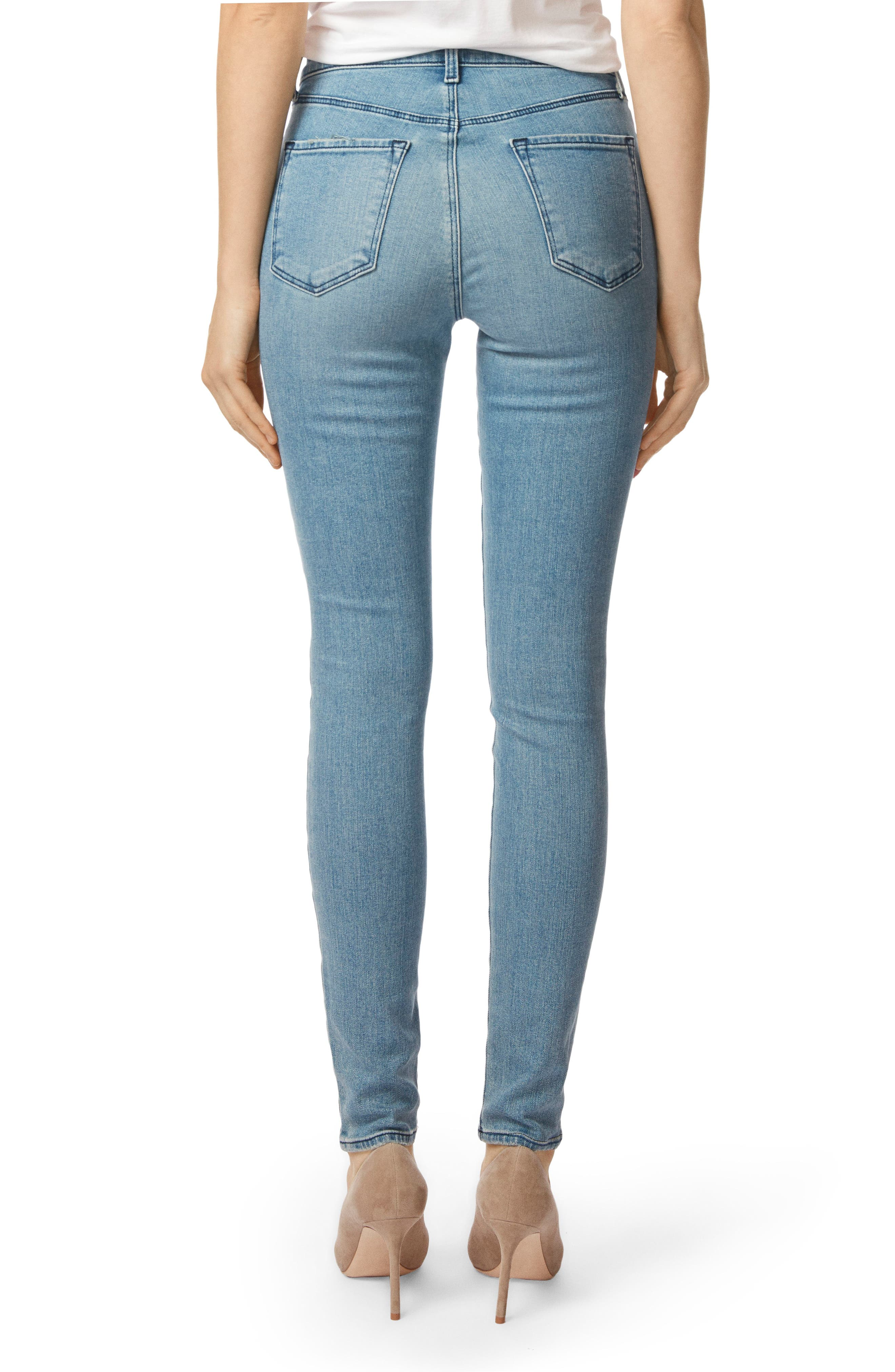 Maria High Waist Skinny Jeans,                             Alternate thumbnail 2, color,                             407