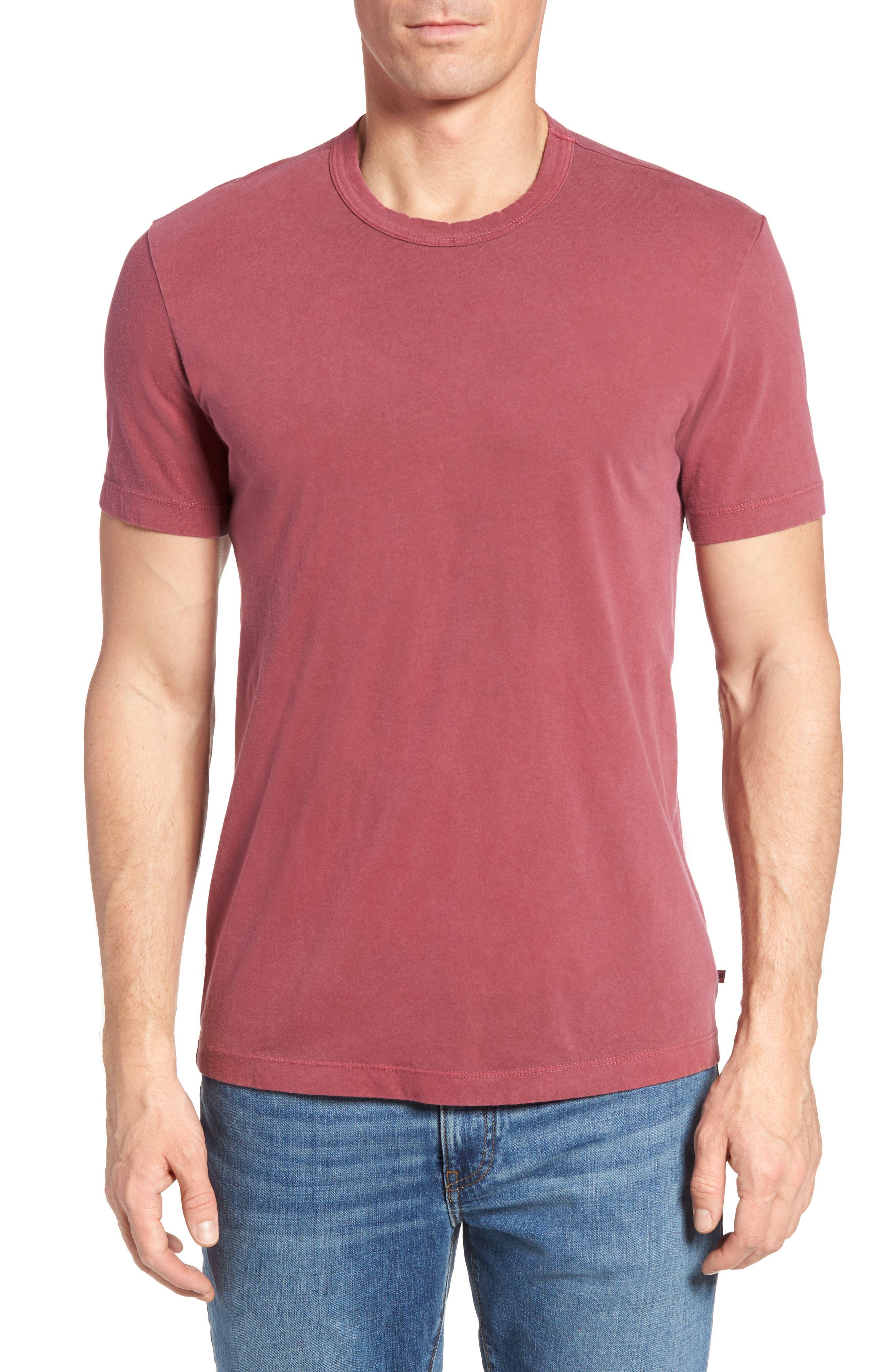 Crewneck Jersey T-Shirt,                             Alternate thumbnail 214, color,