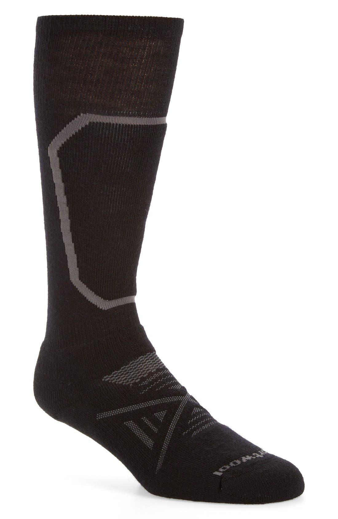 PhD<sup>®</sup> Ski Medium Over the Calf Socks,                         Main,                         color, 001