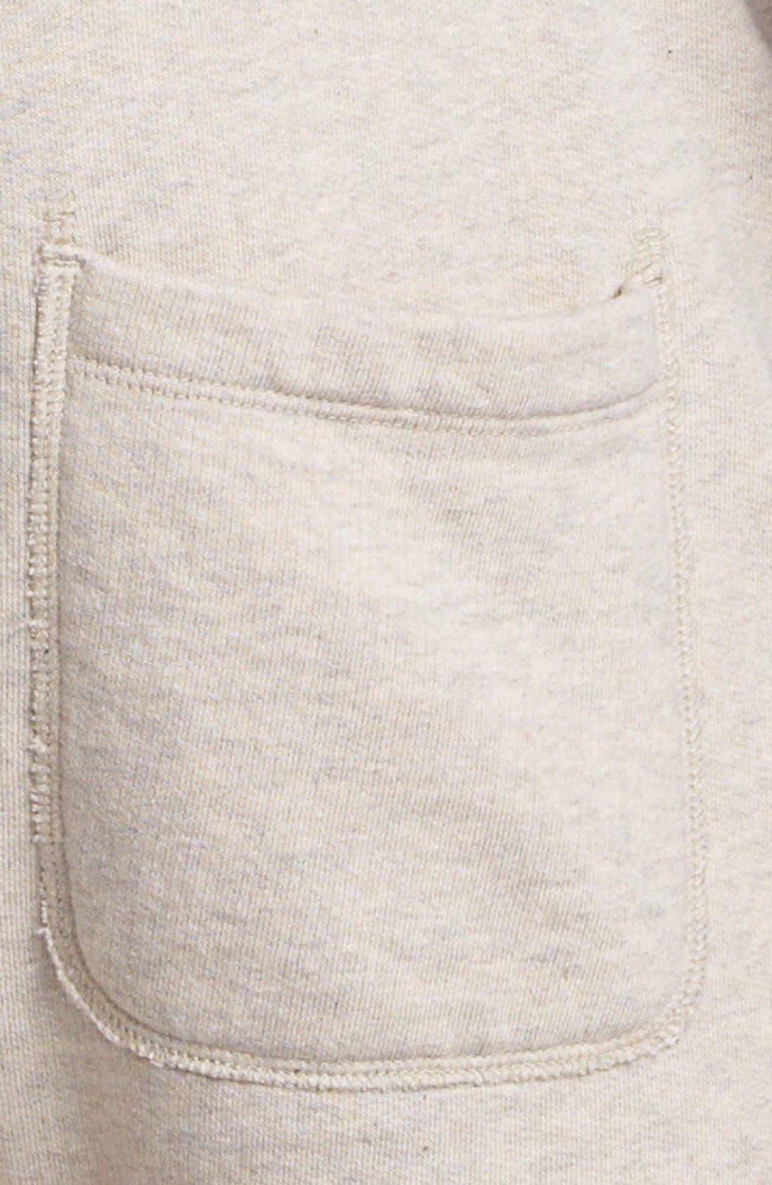 Knit Cotton Shorts,                             Alternate thumbnail 9, color,