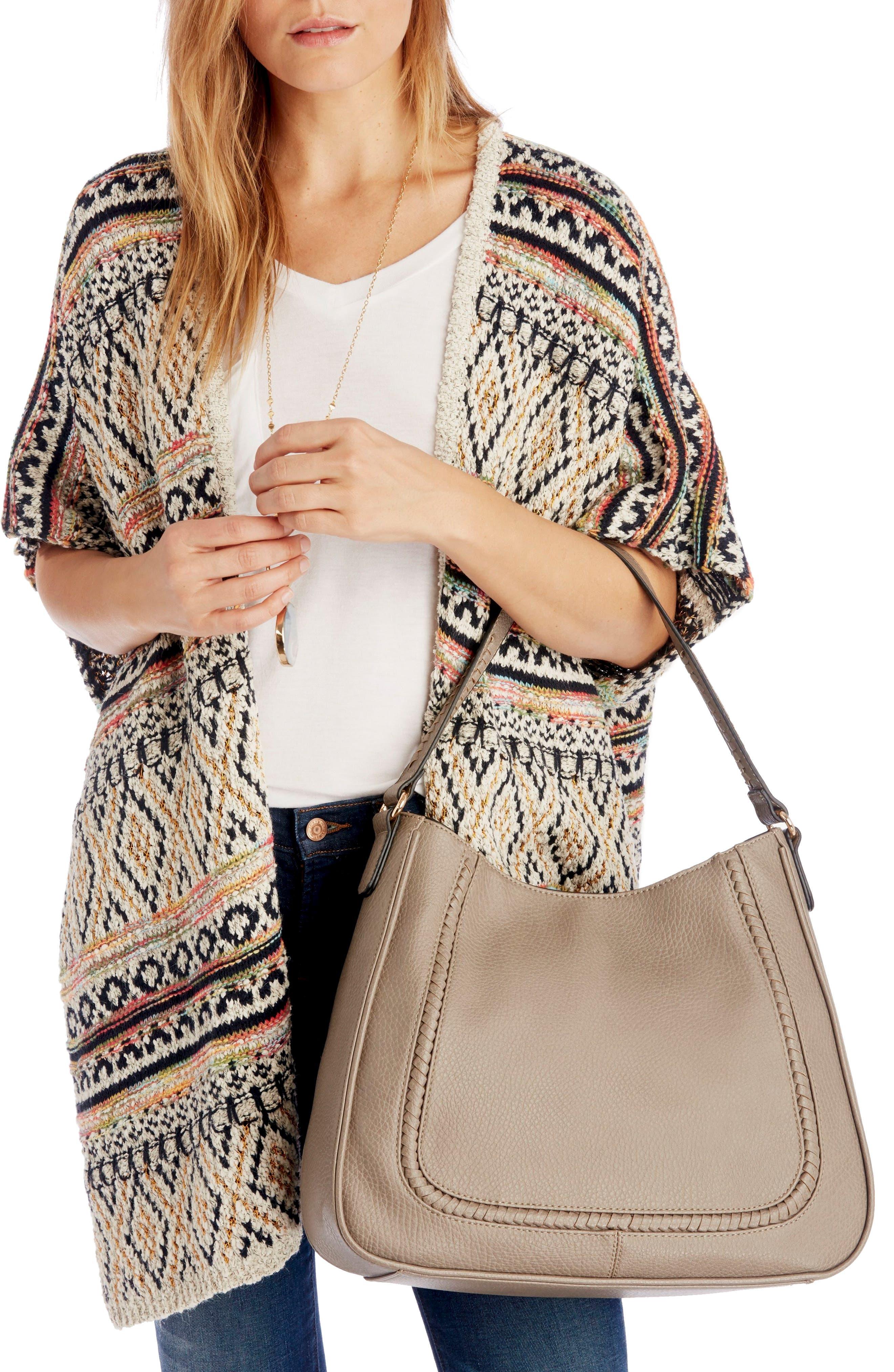 Sarafina Faux Leather Shoulder Bag,                             Alternate thumbnail 2, color,                             020