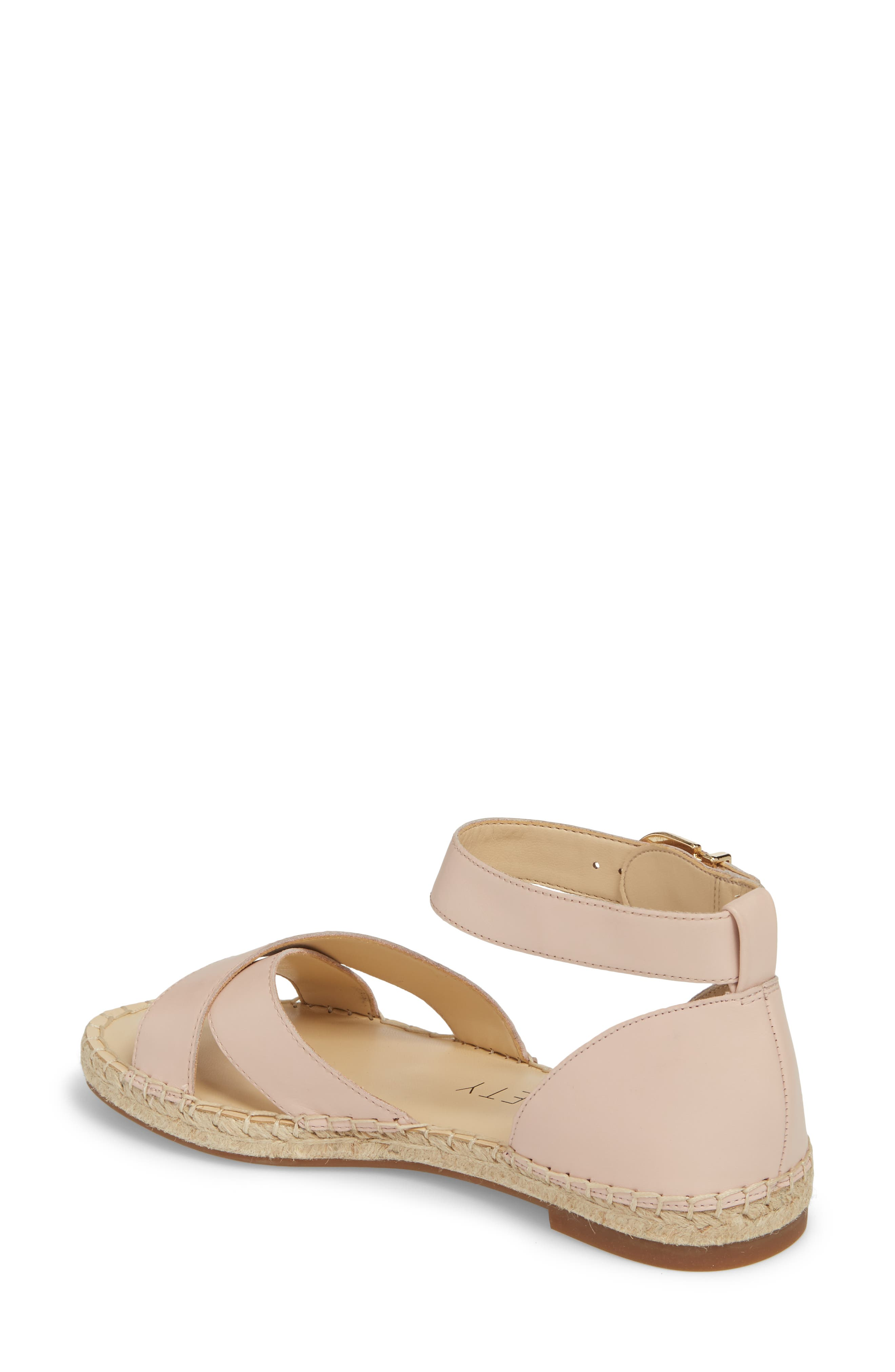 Saundra Espadrille Sandal,                             Alternate thumbnail 8, color,