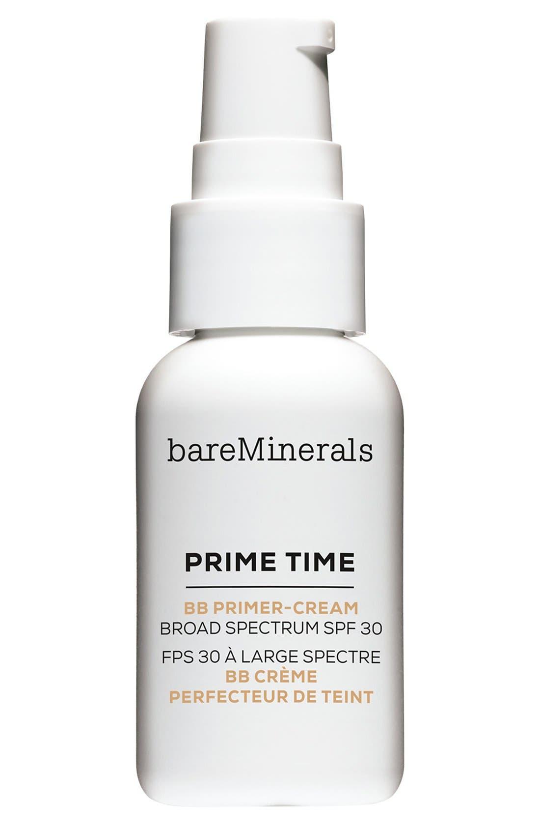 Prime Time BB Primer-Cream Broad Spectrum SPF 30,                             Main thumbnail 1, color,