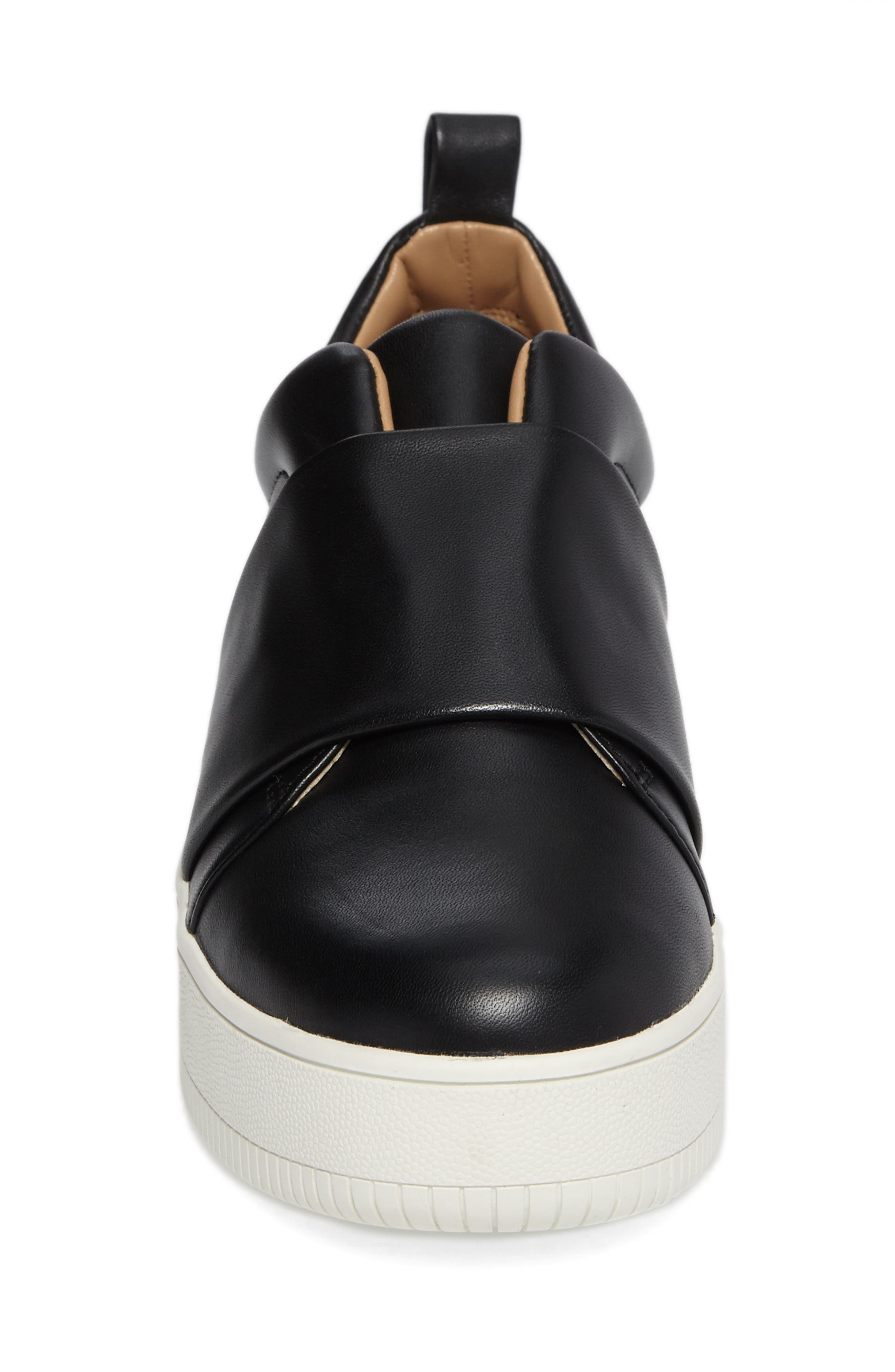 Suzie Platform Sneaker,                             Alternate thumbnail 4, color,                             001