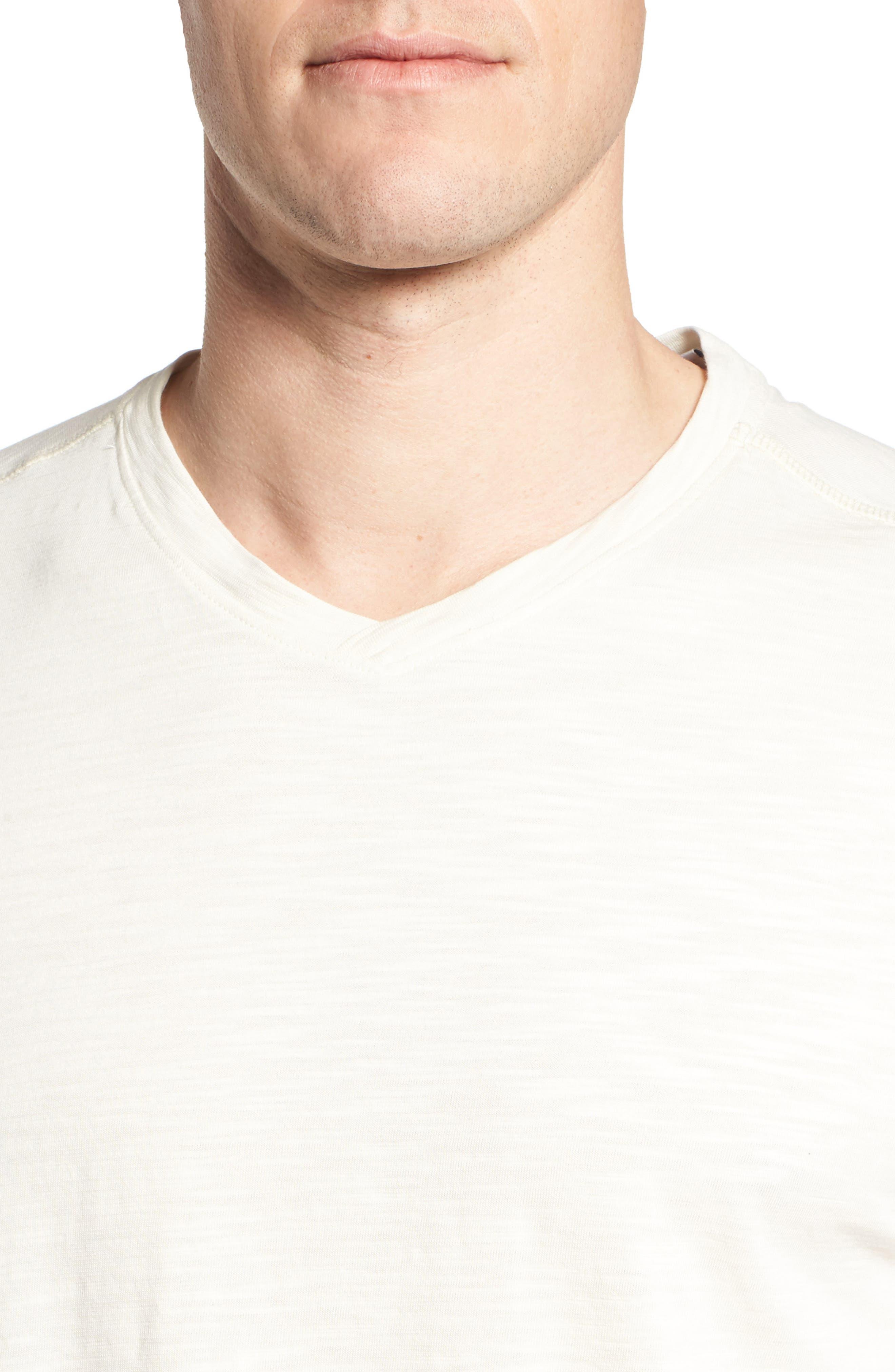 Portside Palms V-Neck T-Shirt,                             Alternate thumbnail 30, color,