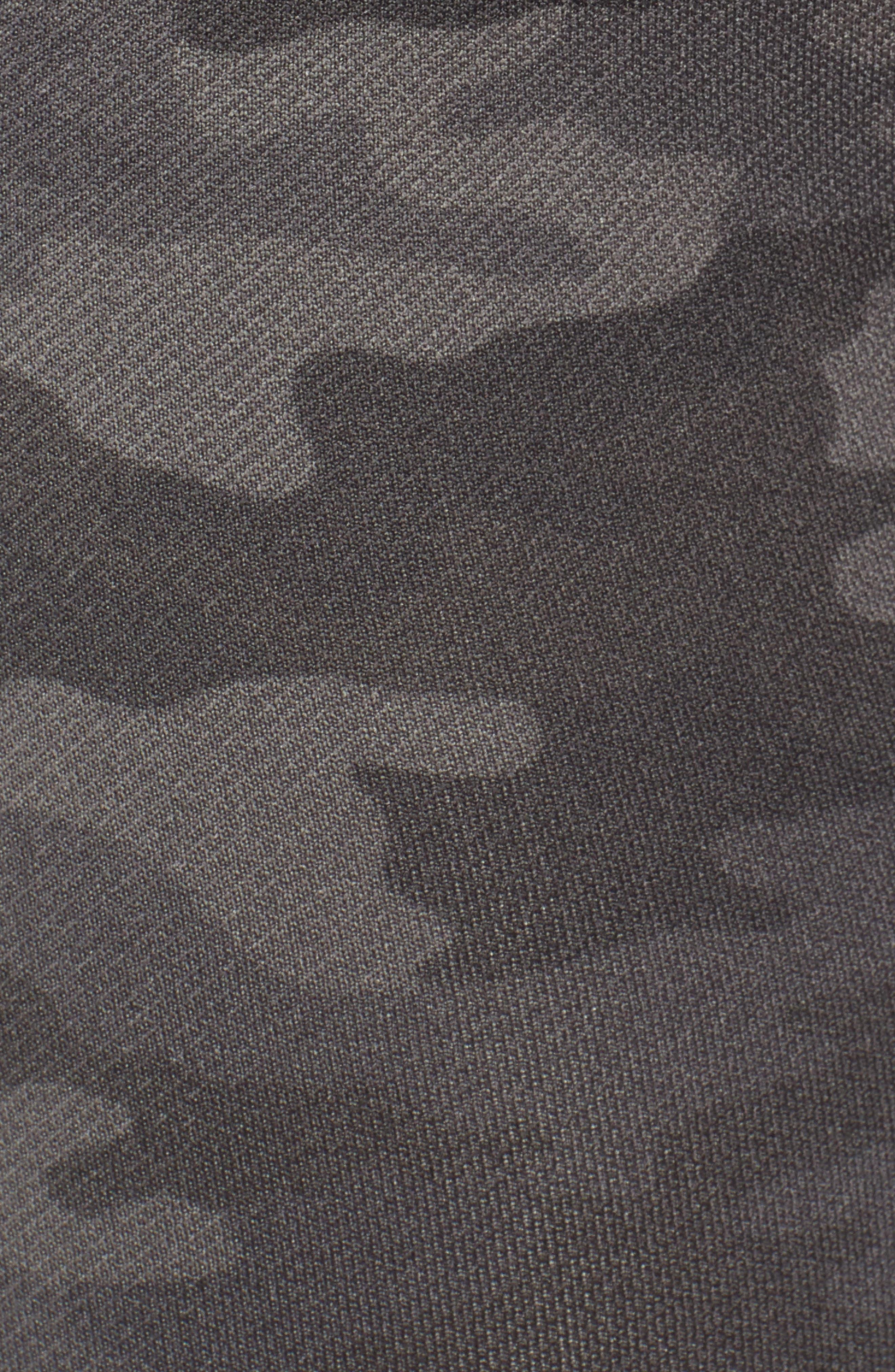 SPANX<SUP>®</SUP>,                             Seamless Crop Leggings,                             Alternate thumbnail 5, color,                             SAGE CAMO