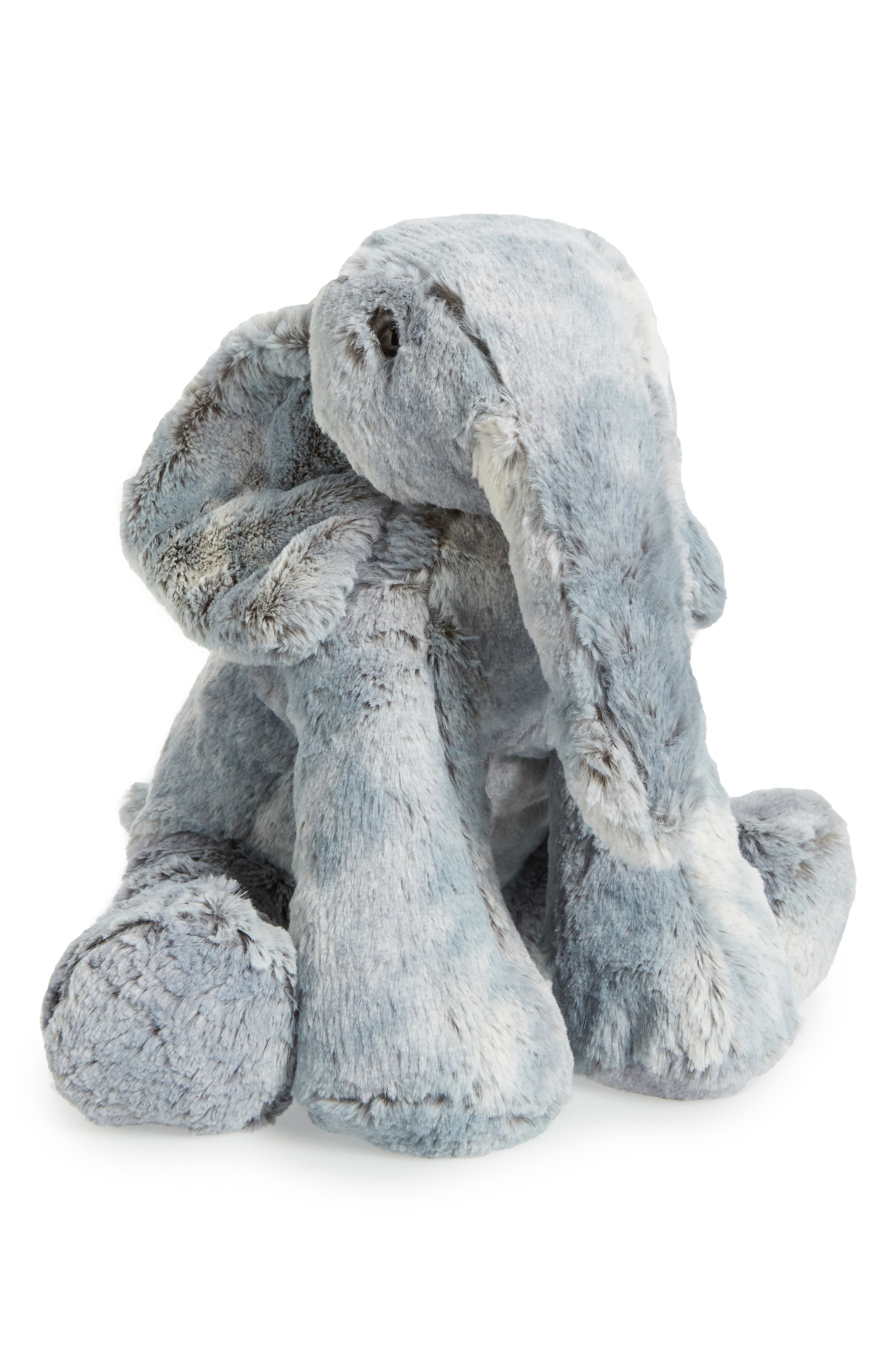 Elly Elephant Stuffed Animal,                             Main thumbnail 1, color,                             020