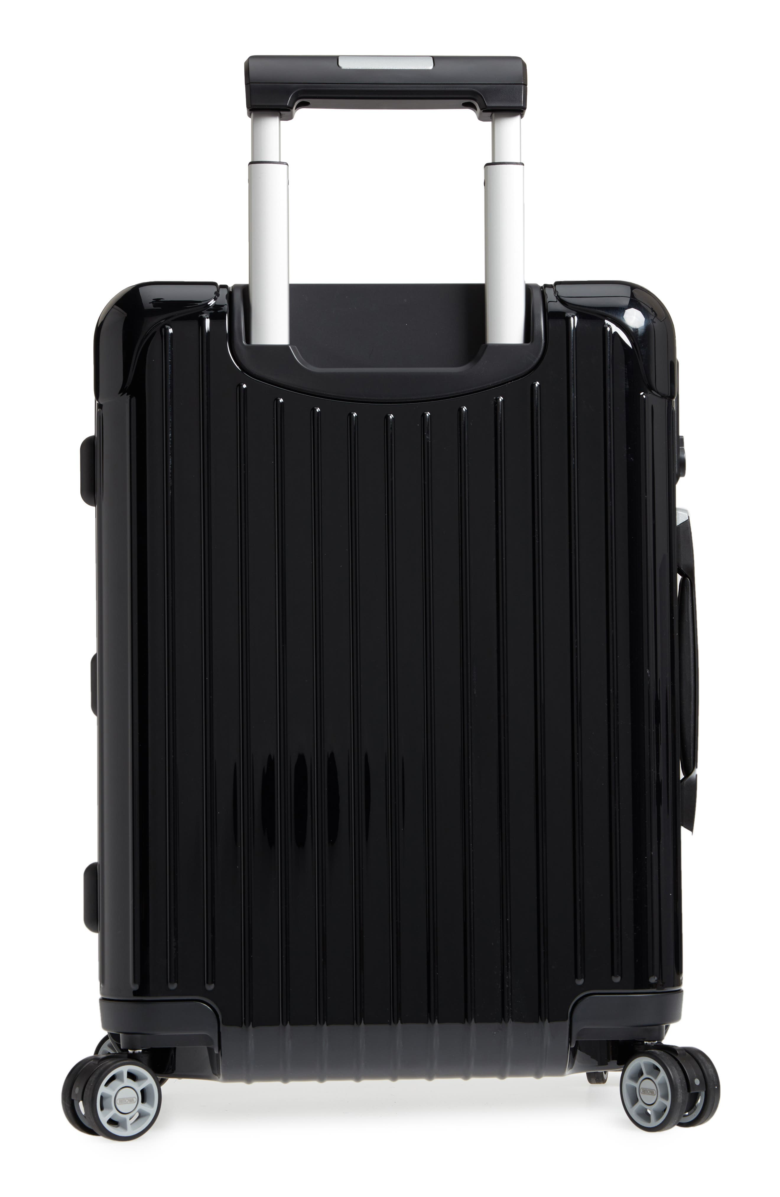 Salsa Deluxe Cabin Multiwheel<sup>®</sup> Carry-On,                             Alternate thumbnail 4, color,                             BLACK
