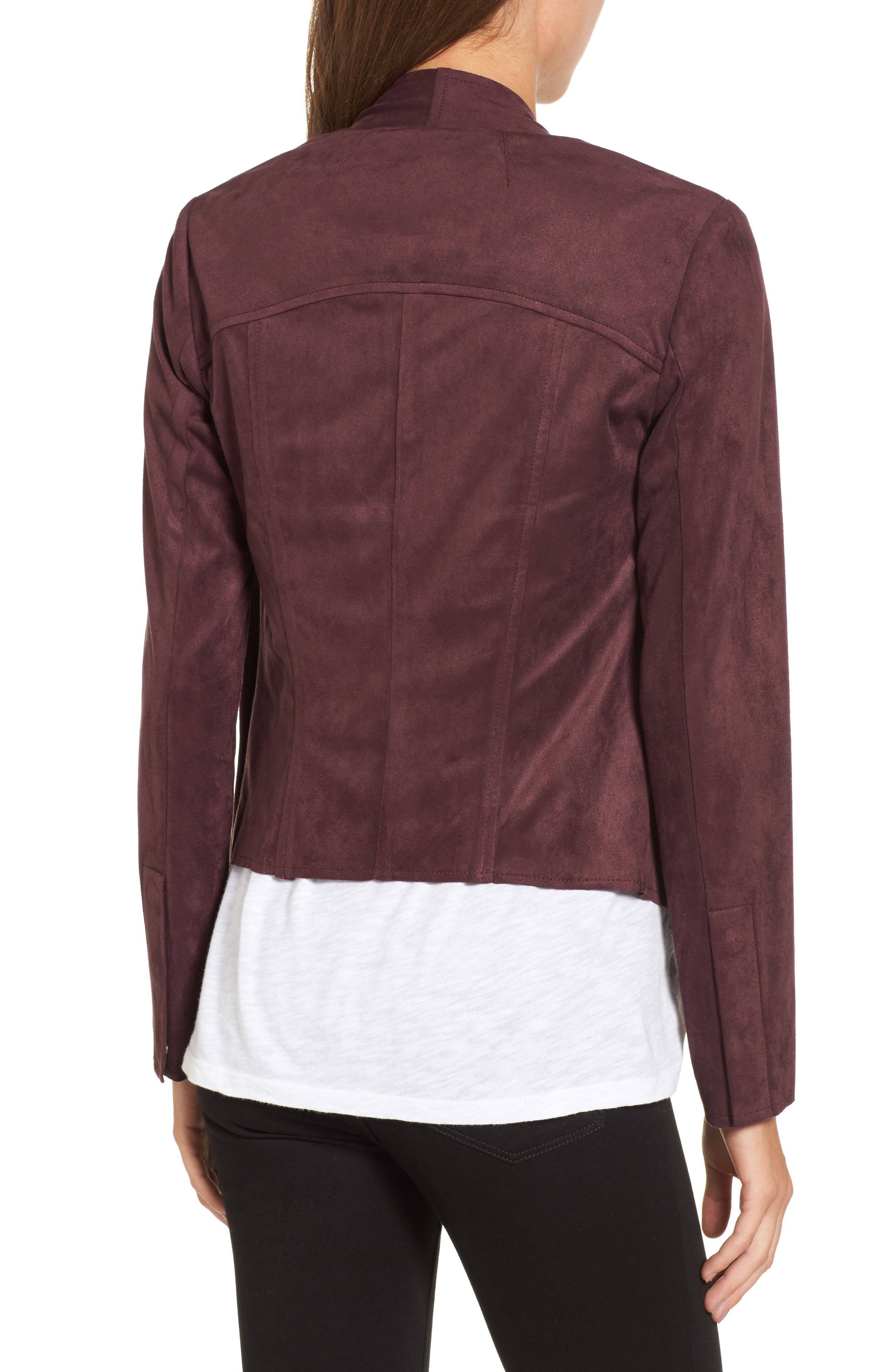 Tayanita Faux Suede Jacket,                             Alternate thumbnail 25, color,