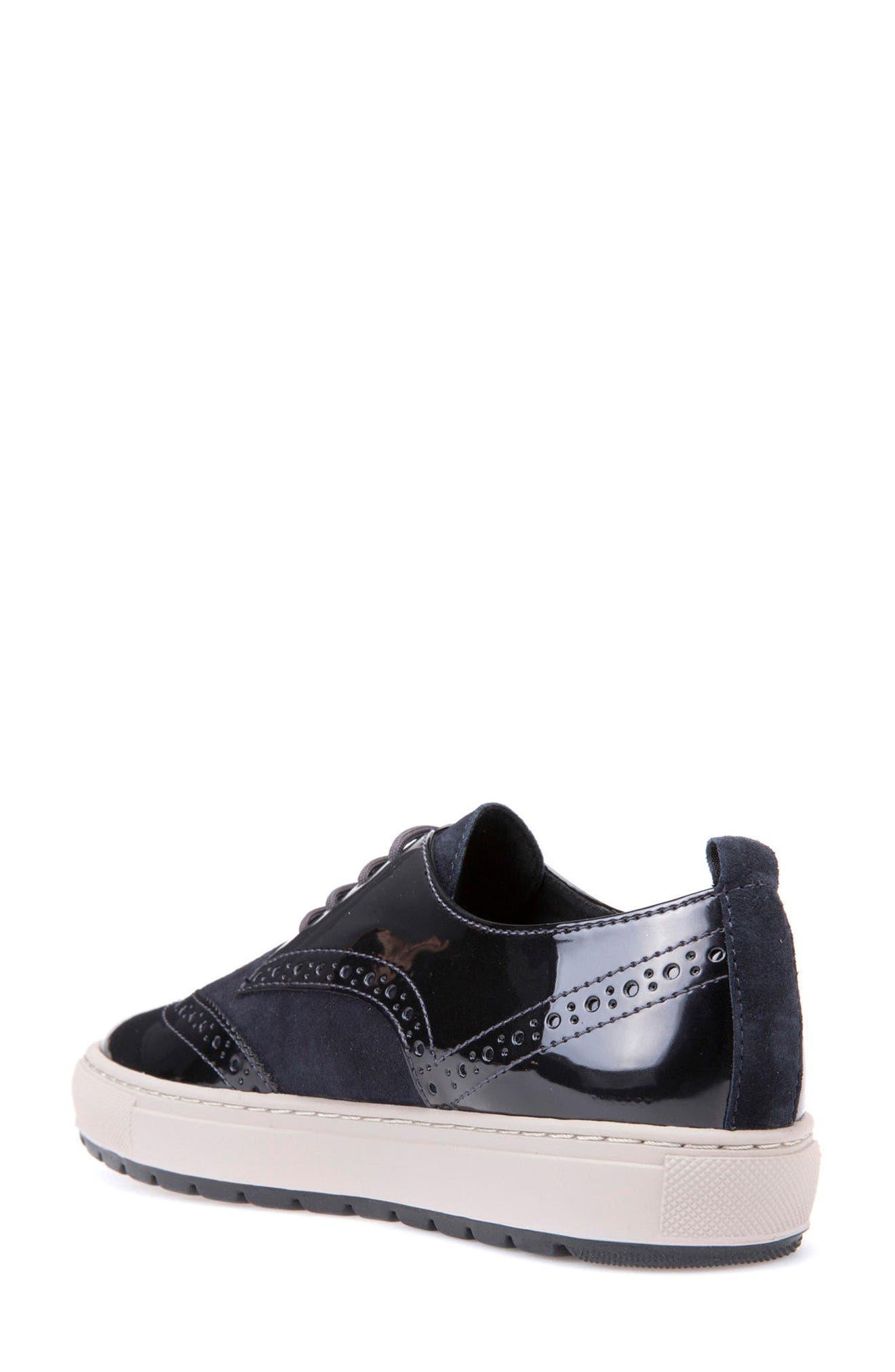 Breeda Oxford Sneaker,                             Alternate thumbnail 2, color,                             400