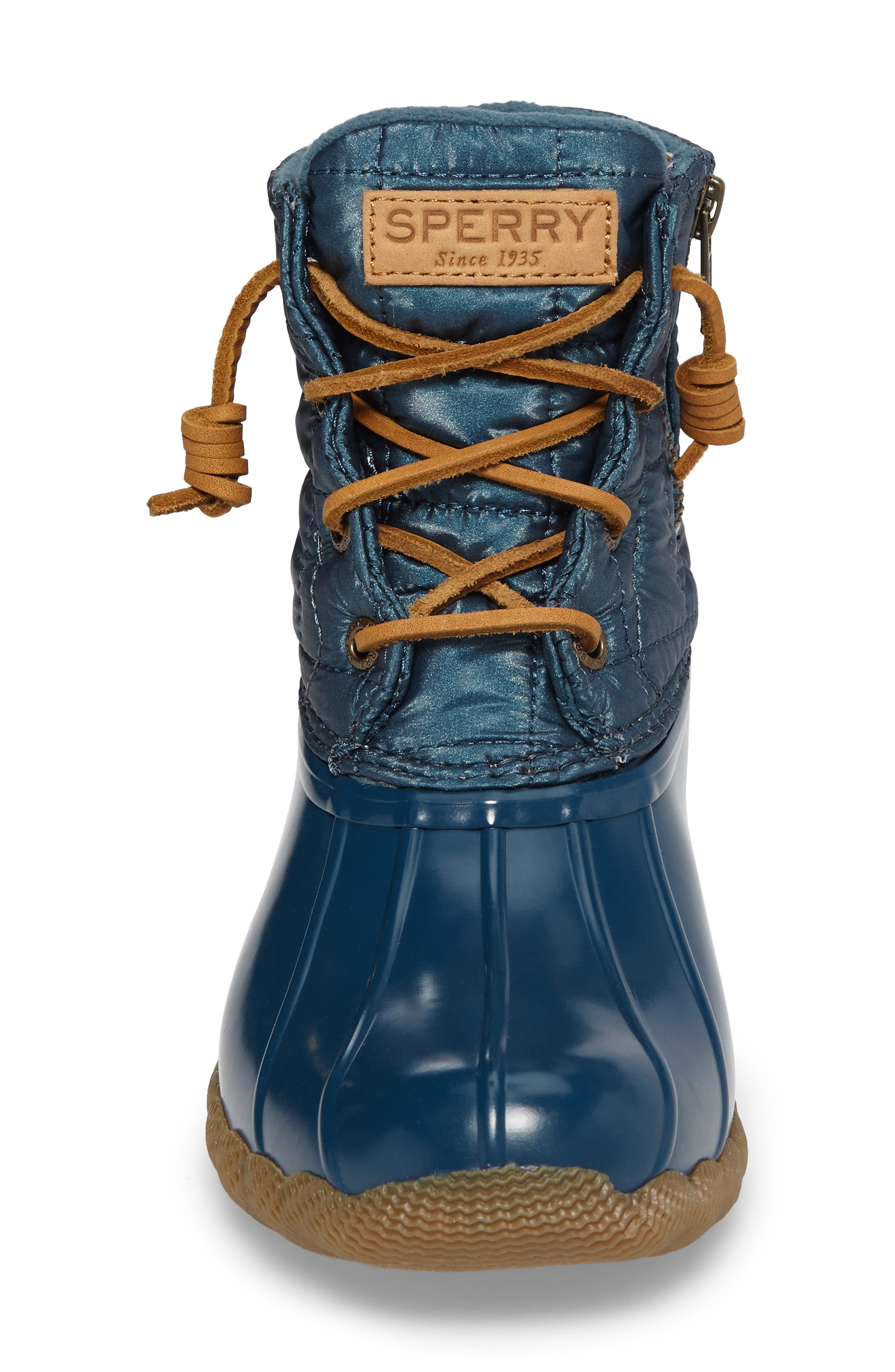 'Saltwater' Waterproof Rain Boot,                             Alternate thumbnail 110, color,