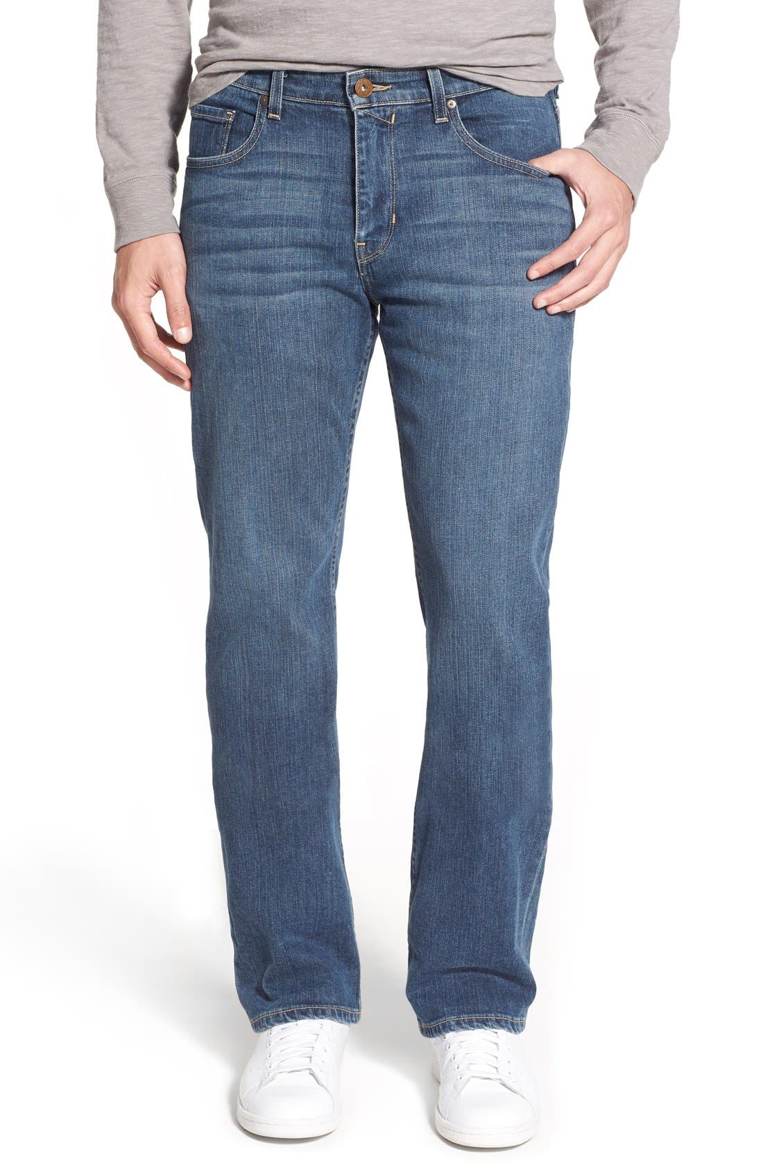 'Doheny' Relaxed Fit Jeans,                             Main thumbnail 1, color,                             400