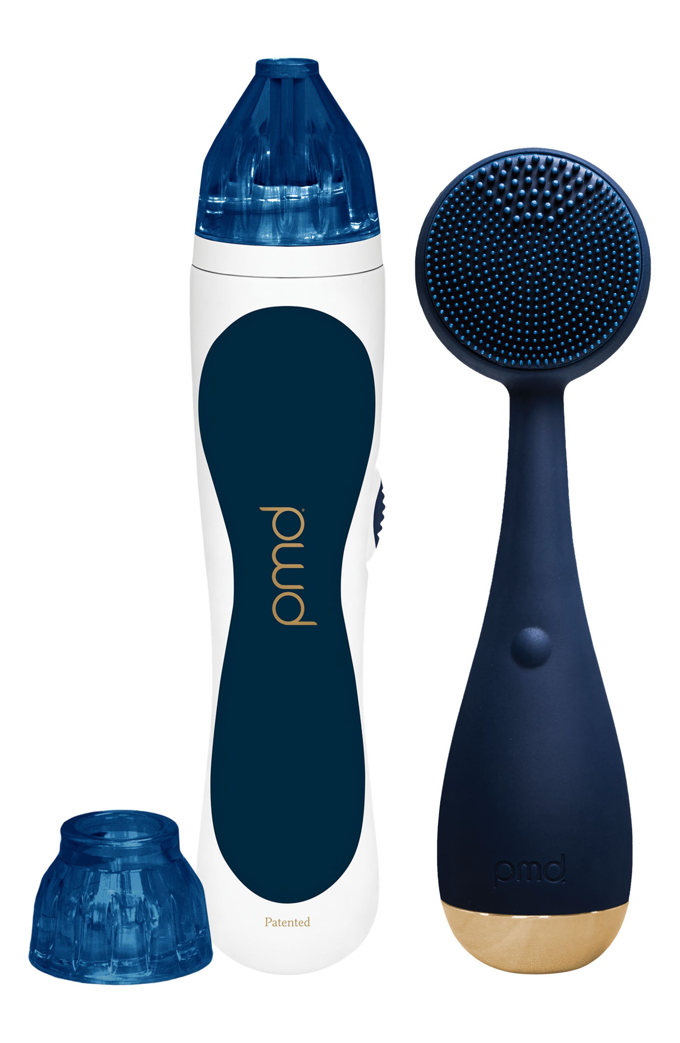 Navy Personal Microderm & Clean Device Duo,                         Main,                         color, 000