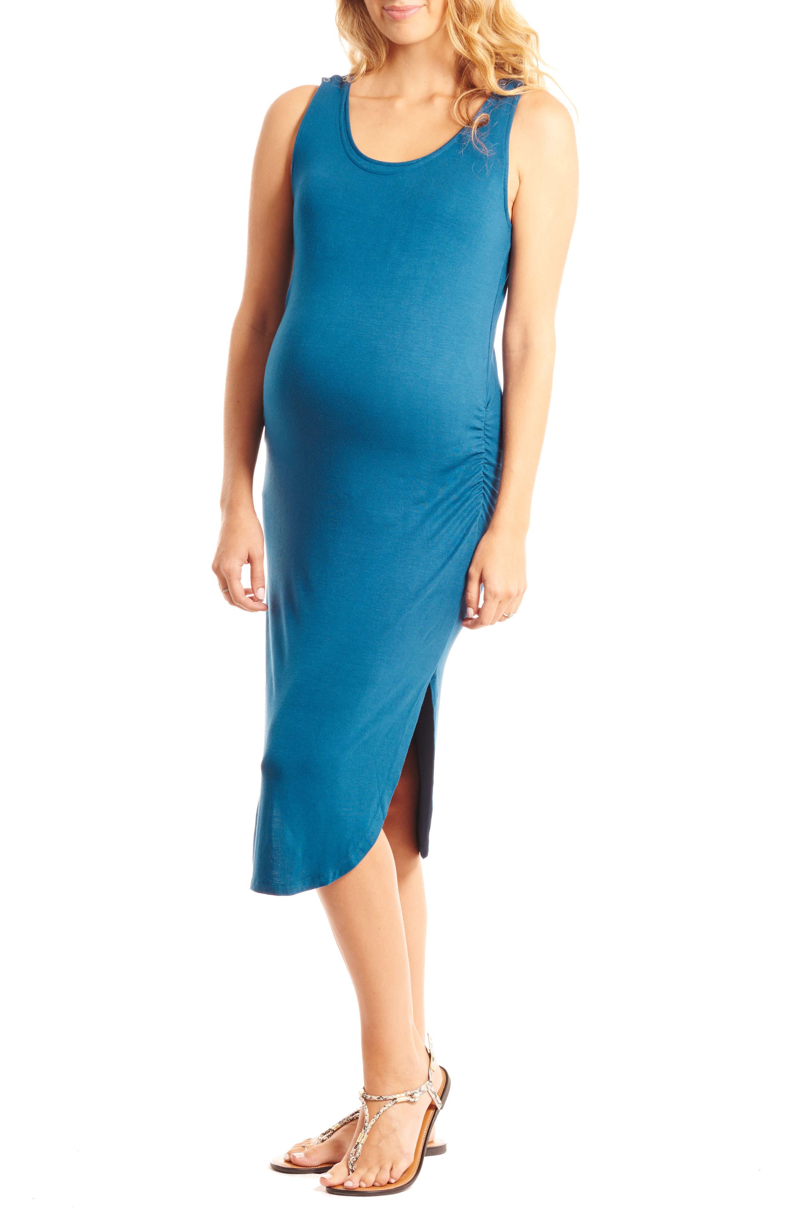 Demi Maternity/Nursing Dress,                             Main thumbnail 1, color,                             442