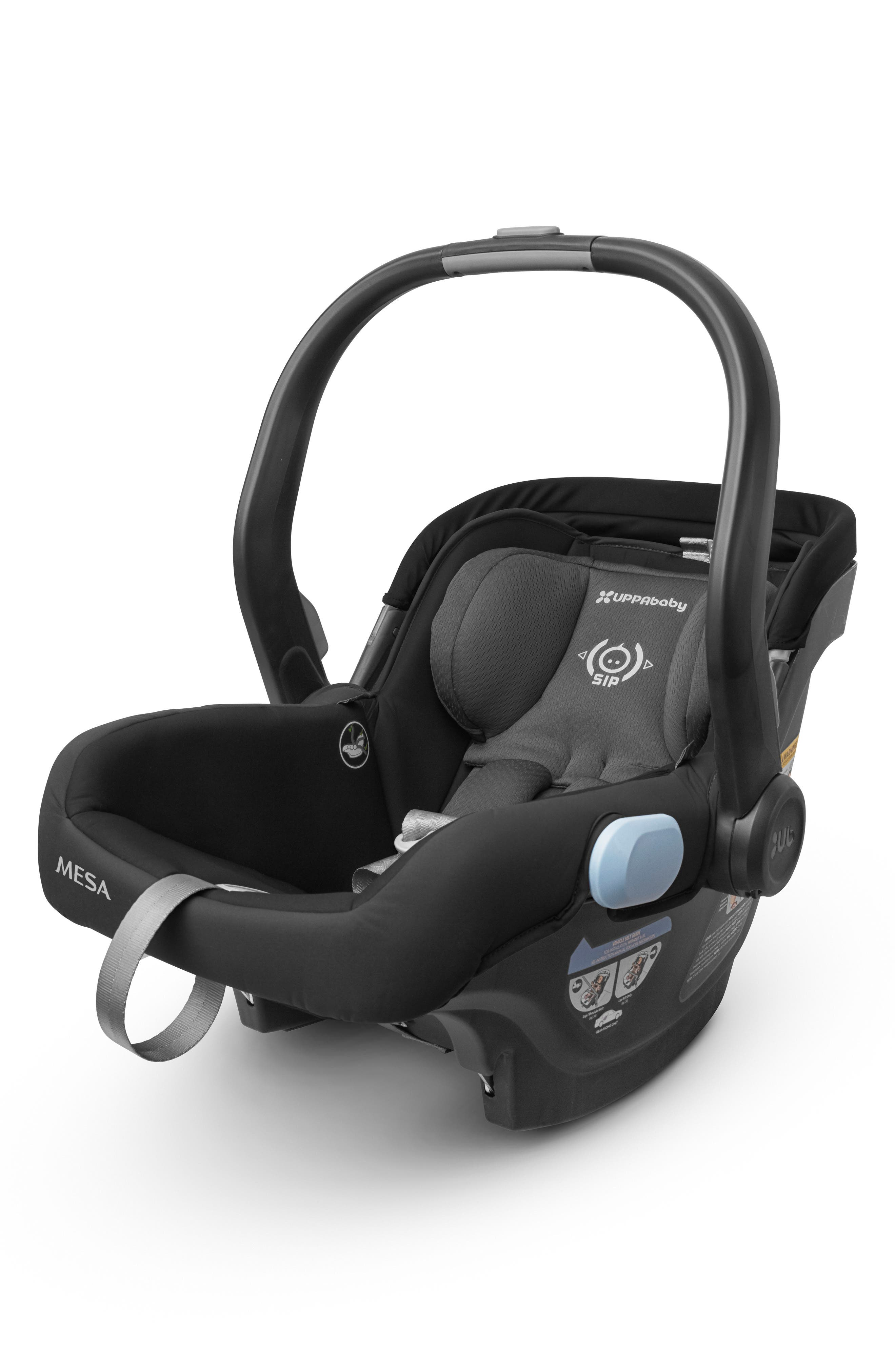 UPPABABY,                             2017 MESA Infant Car Seat,                             Alternate thumbnail 2, color,                             BLACK
