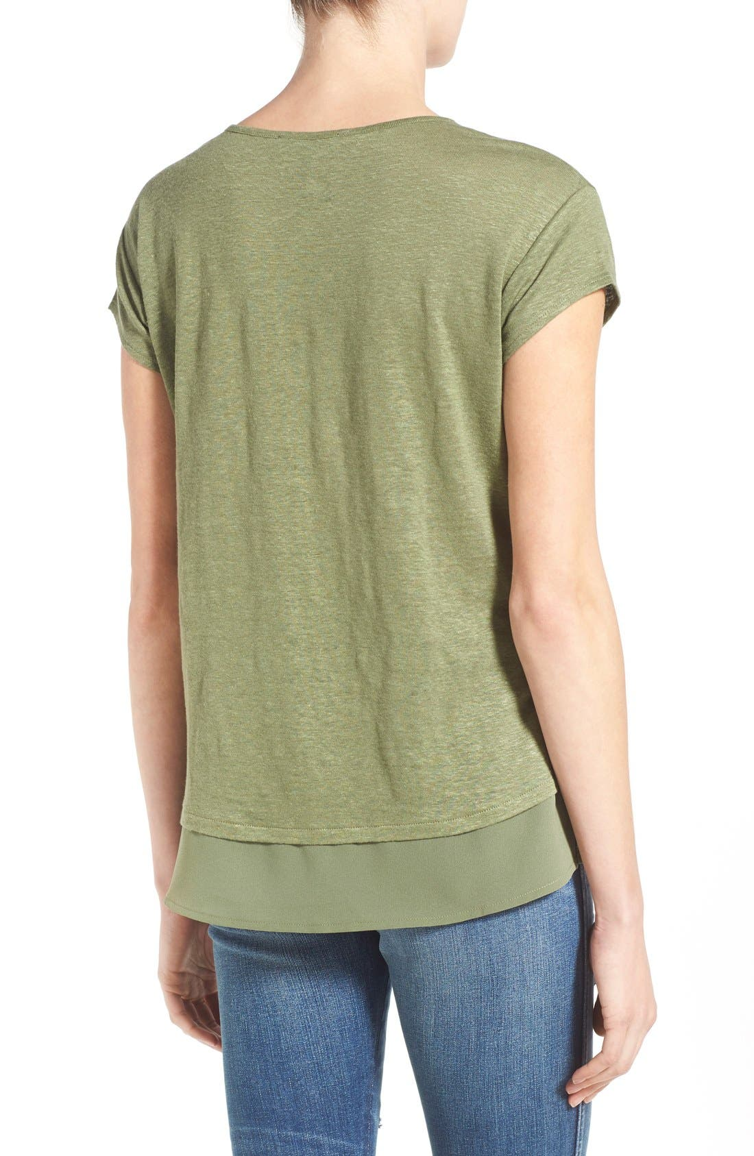 City Mix Layered Look Tee,                             Alternate thumbnail 79, color,