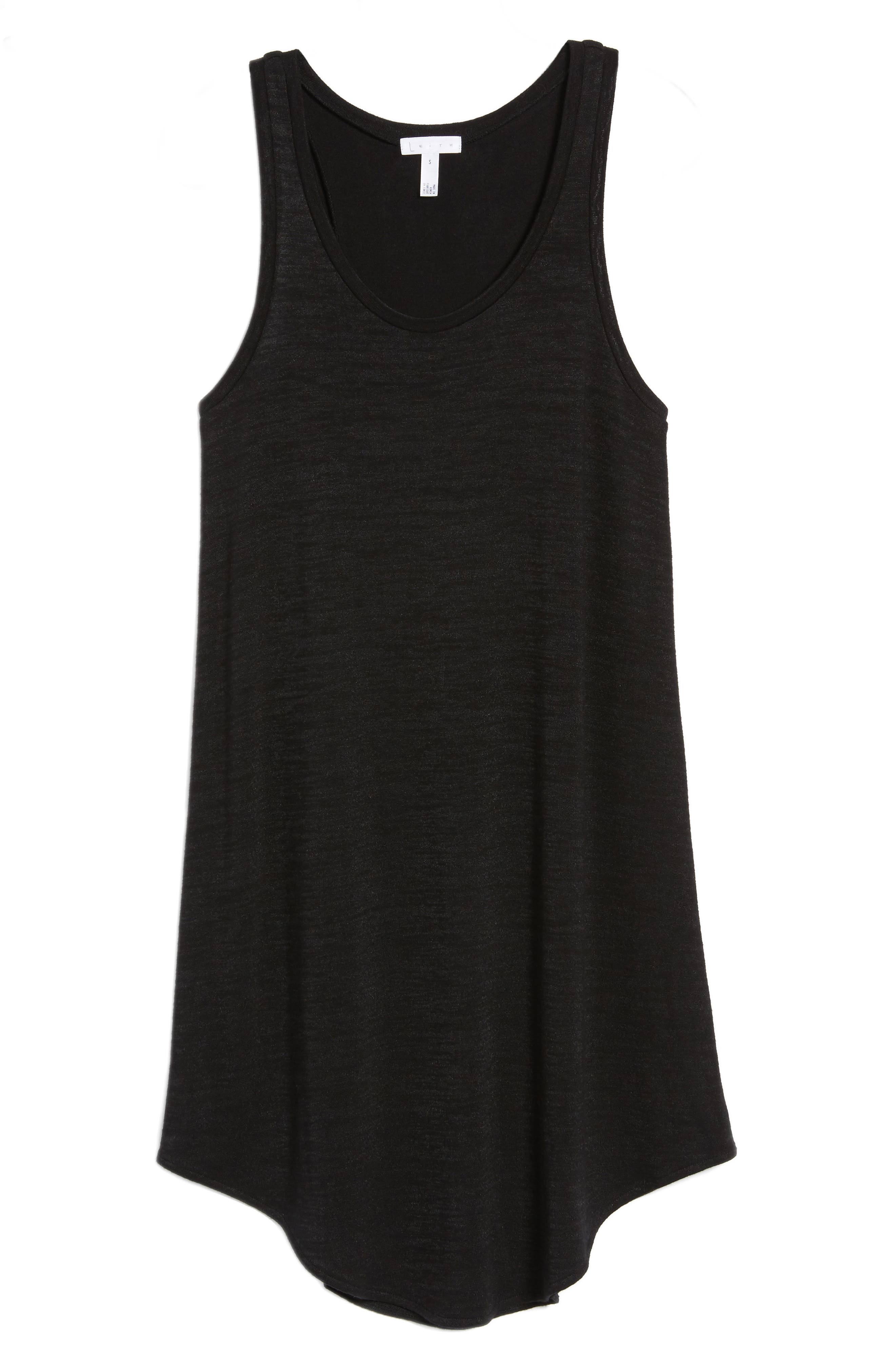 Tank Shift Dress,                             Alternate thumbnail 7, color,                             001