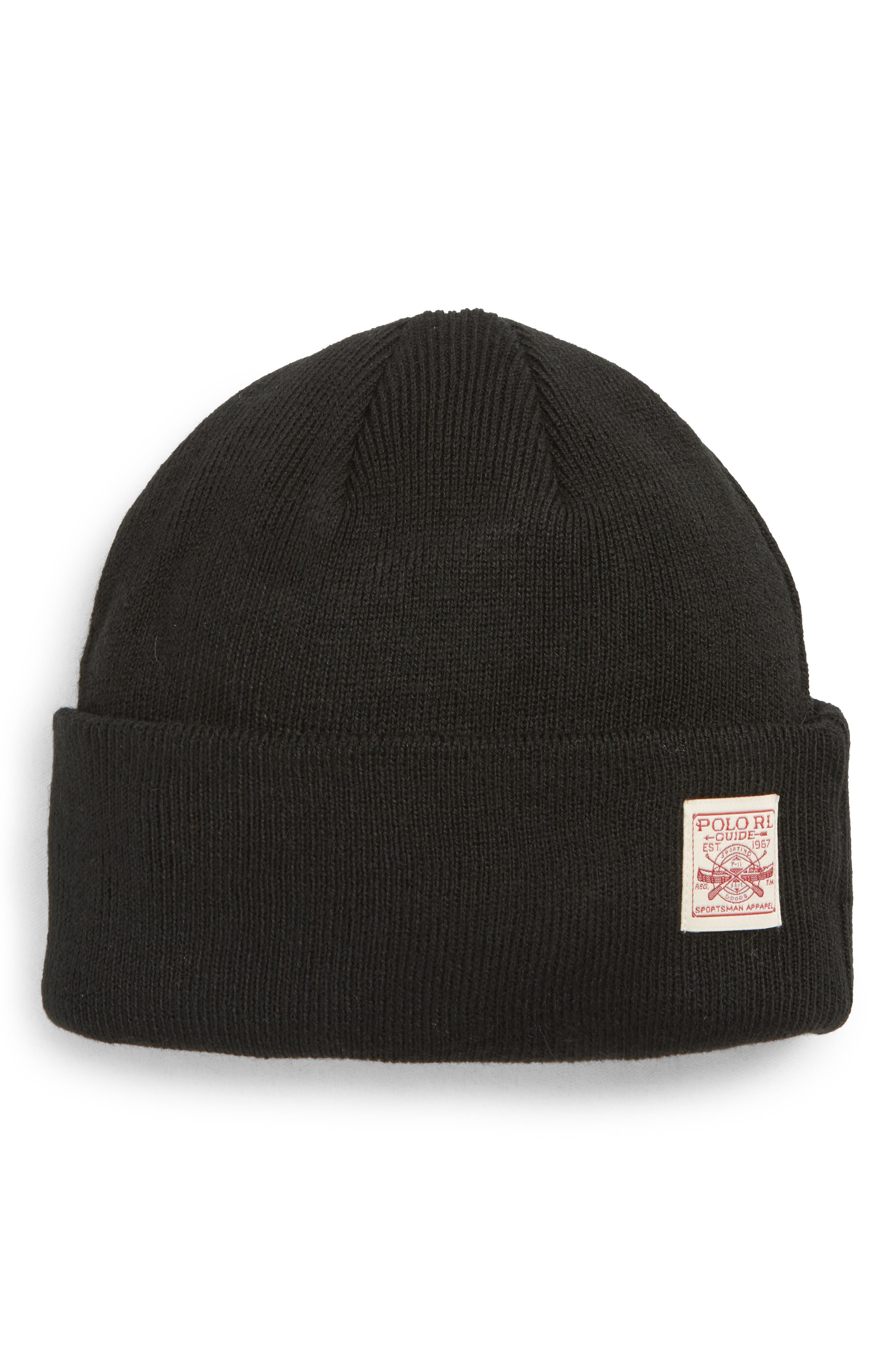 Everyday Watch Beanie,                             Main thumbnail 1, color,                             BLACK