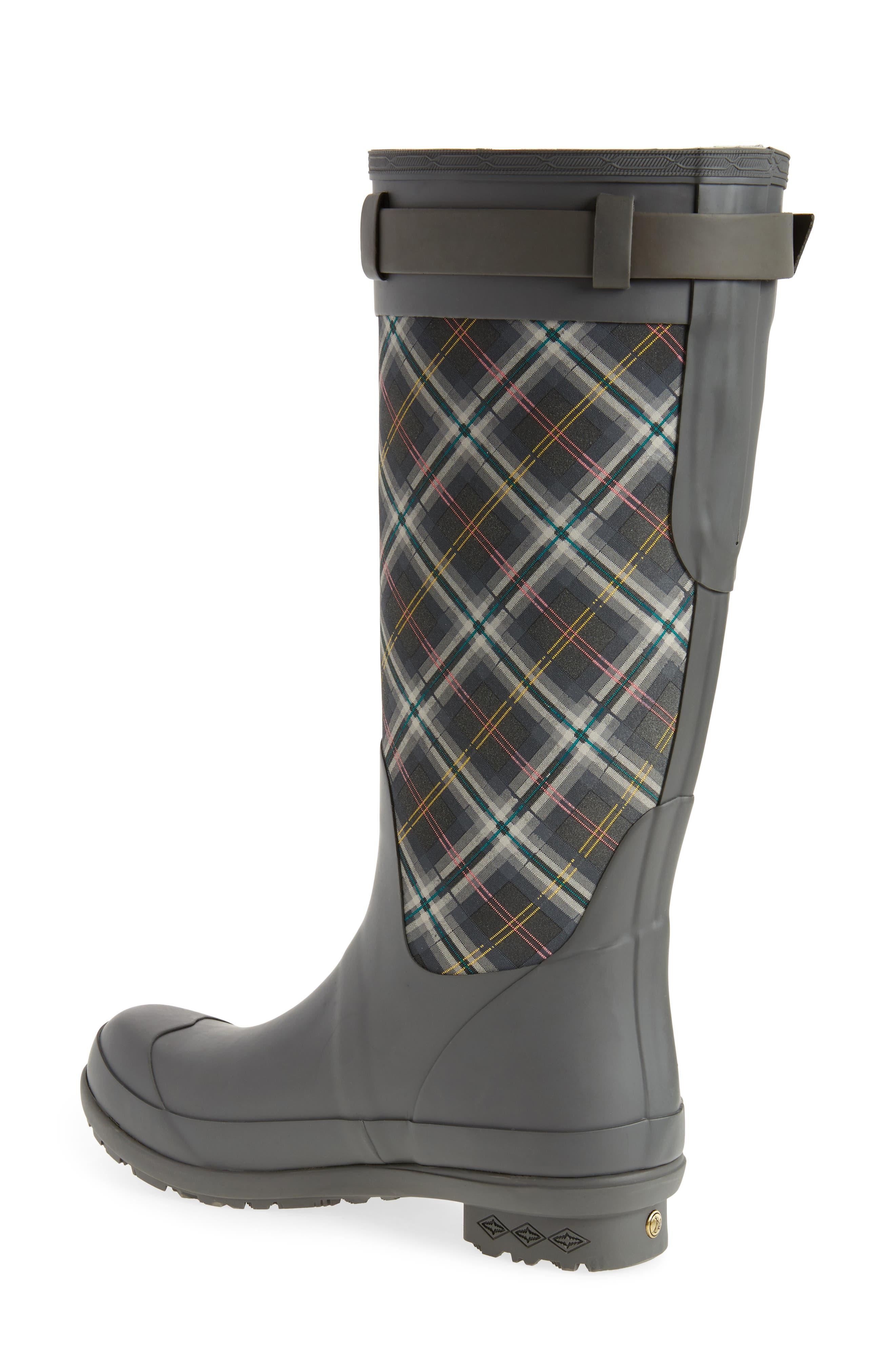 Pendleton Oxford Rain Boot,                             Alternate thumbnail 2, color,                             GRAY
