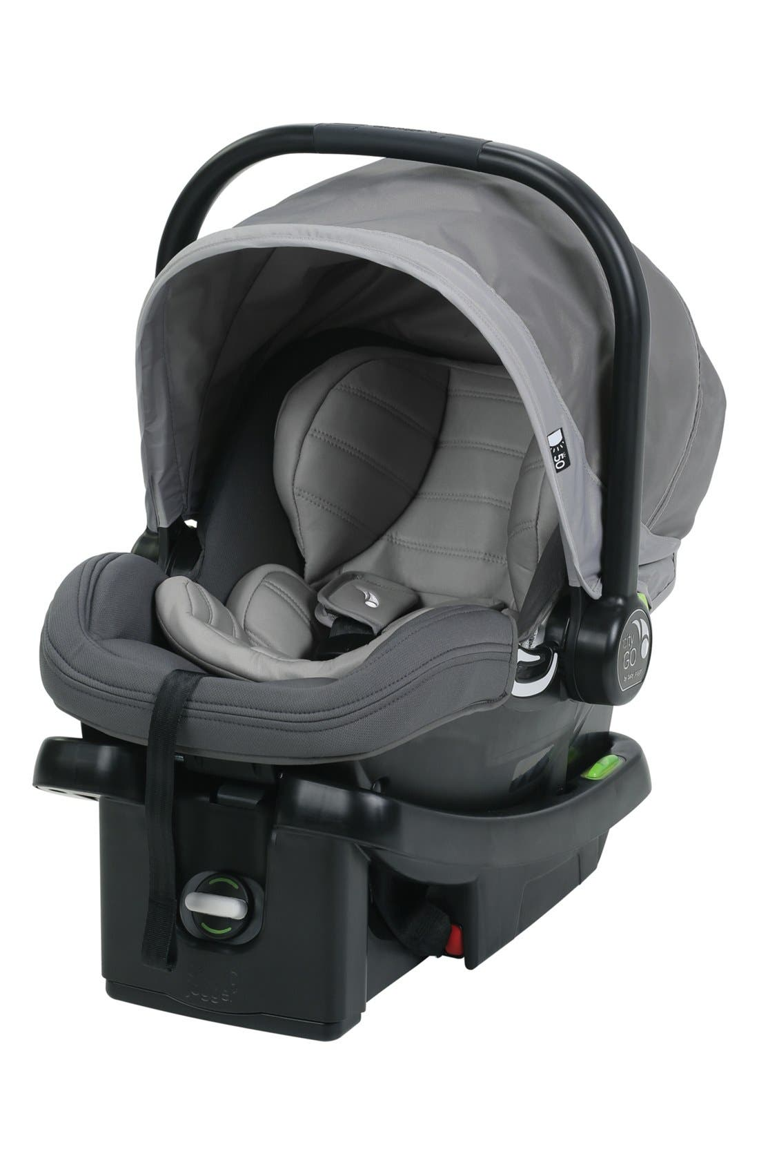 City GO<sup>™</sup> Car Seat,                         Main,                         color, STEEL GRAY