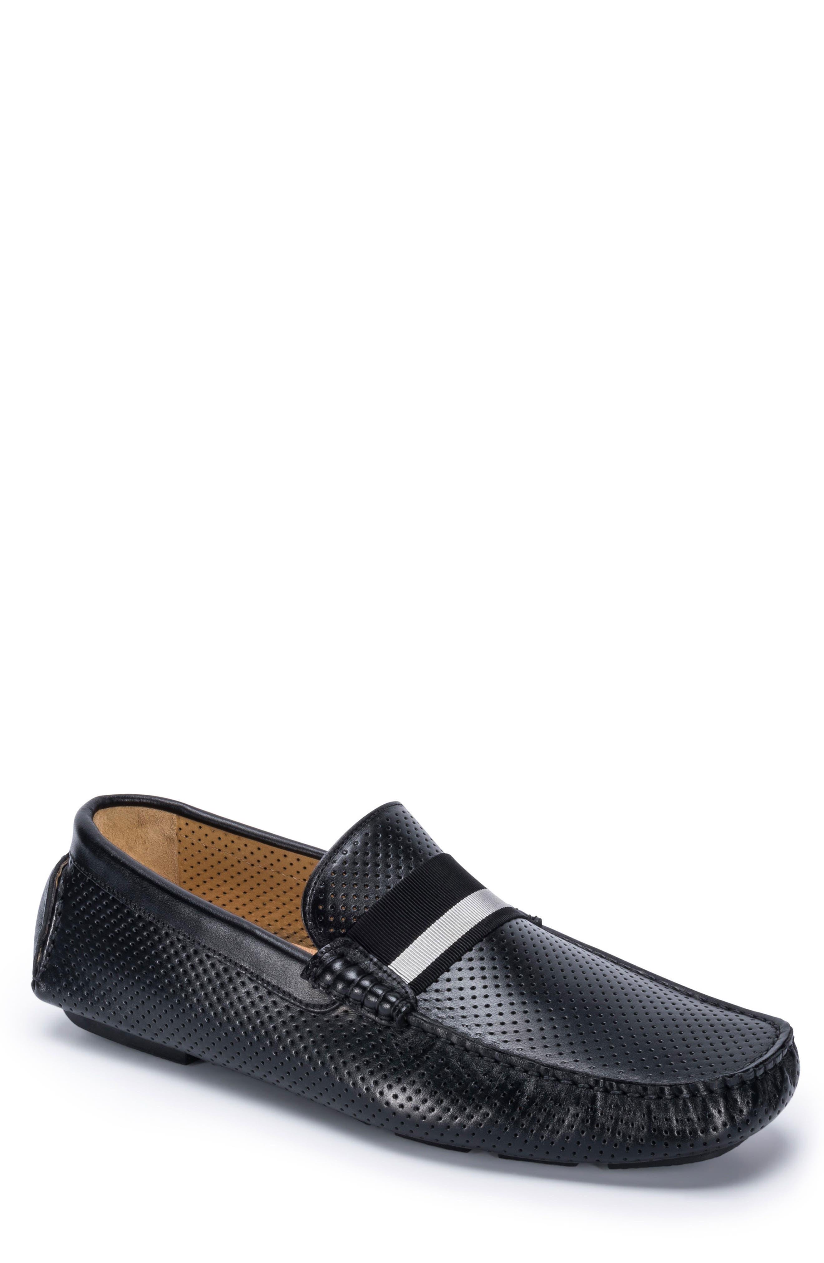 Sardegna Driving Shoe,                             Main thumbnail 1, color,                             BLACK