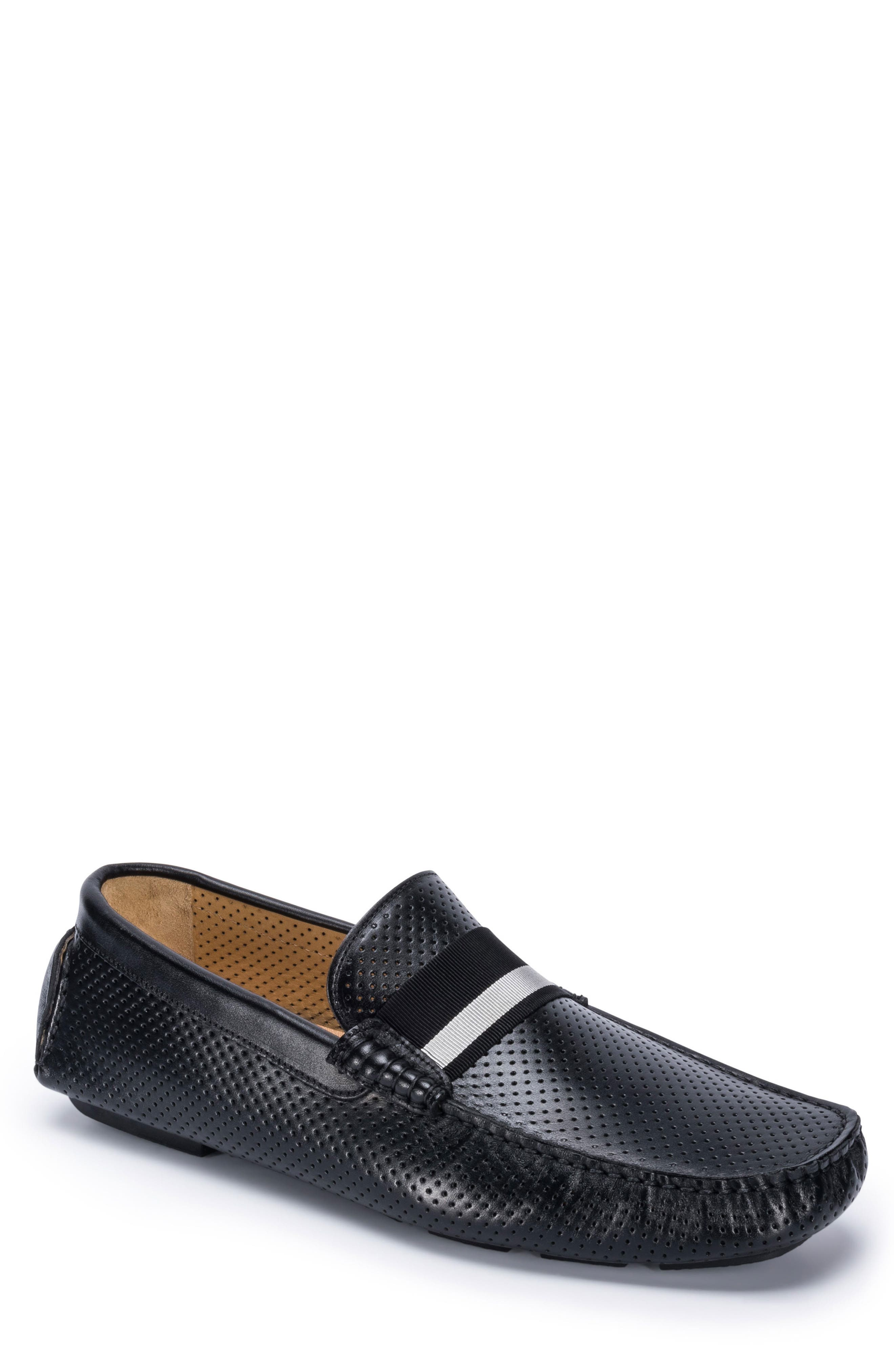 Sardegna Driving Shoe,                         Main,                         color, BLACK