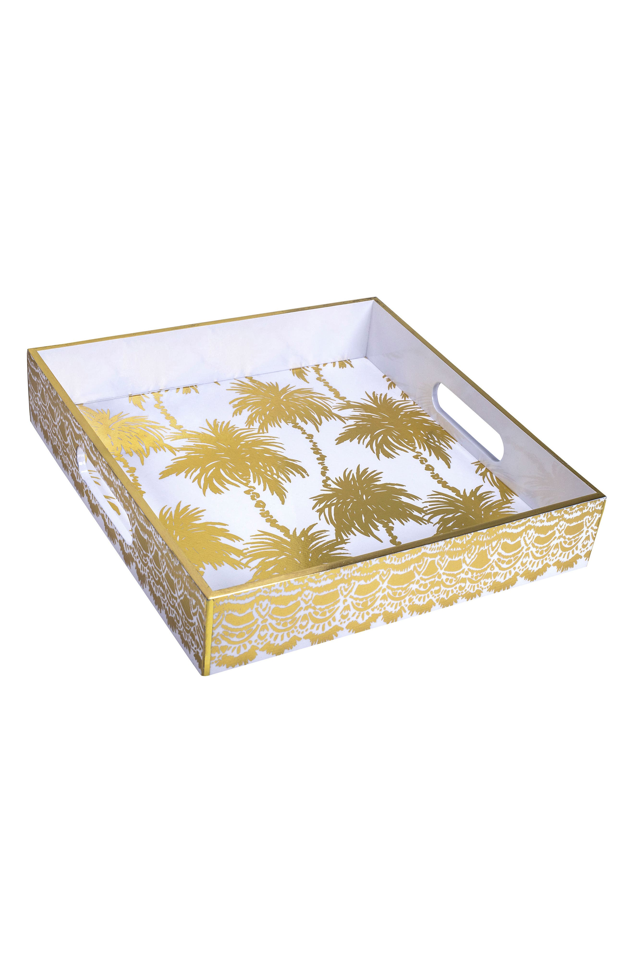 Lacquer Hostess Tray,                         Main,                         color, 710