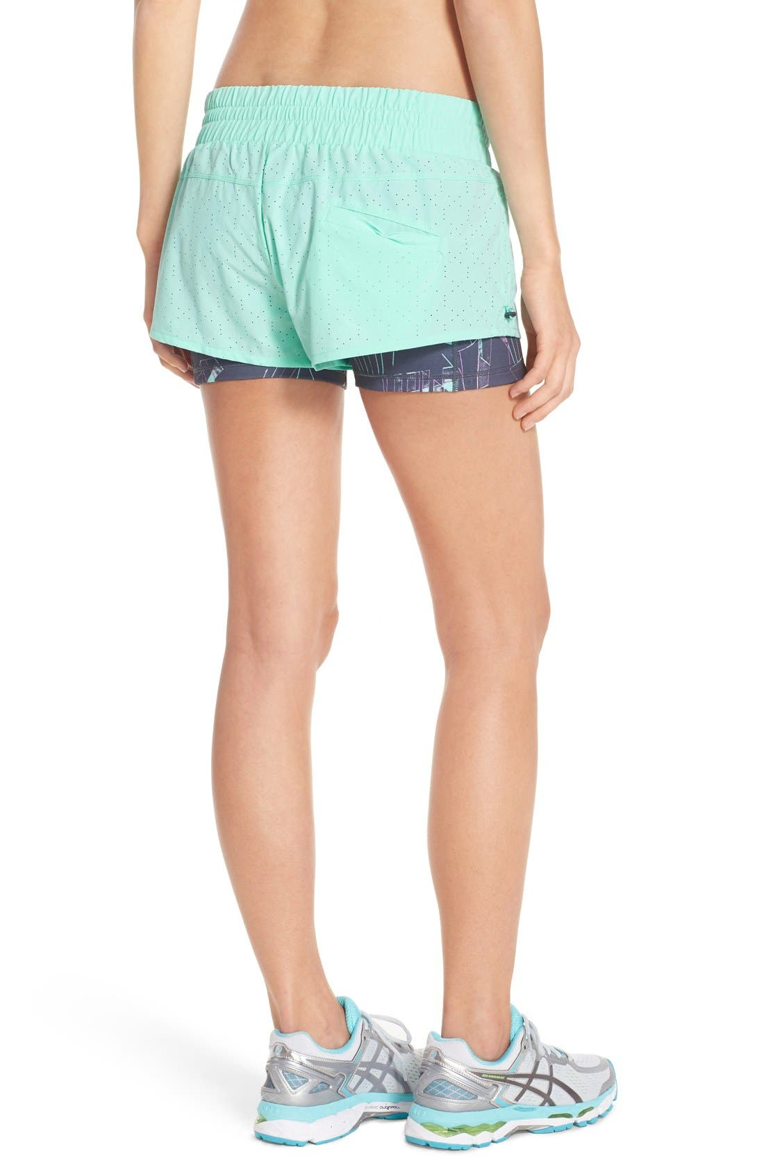 'Twice as Nice' Layered Shorts,                             Alternate thumbnail 9, color,
