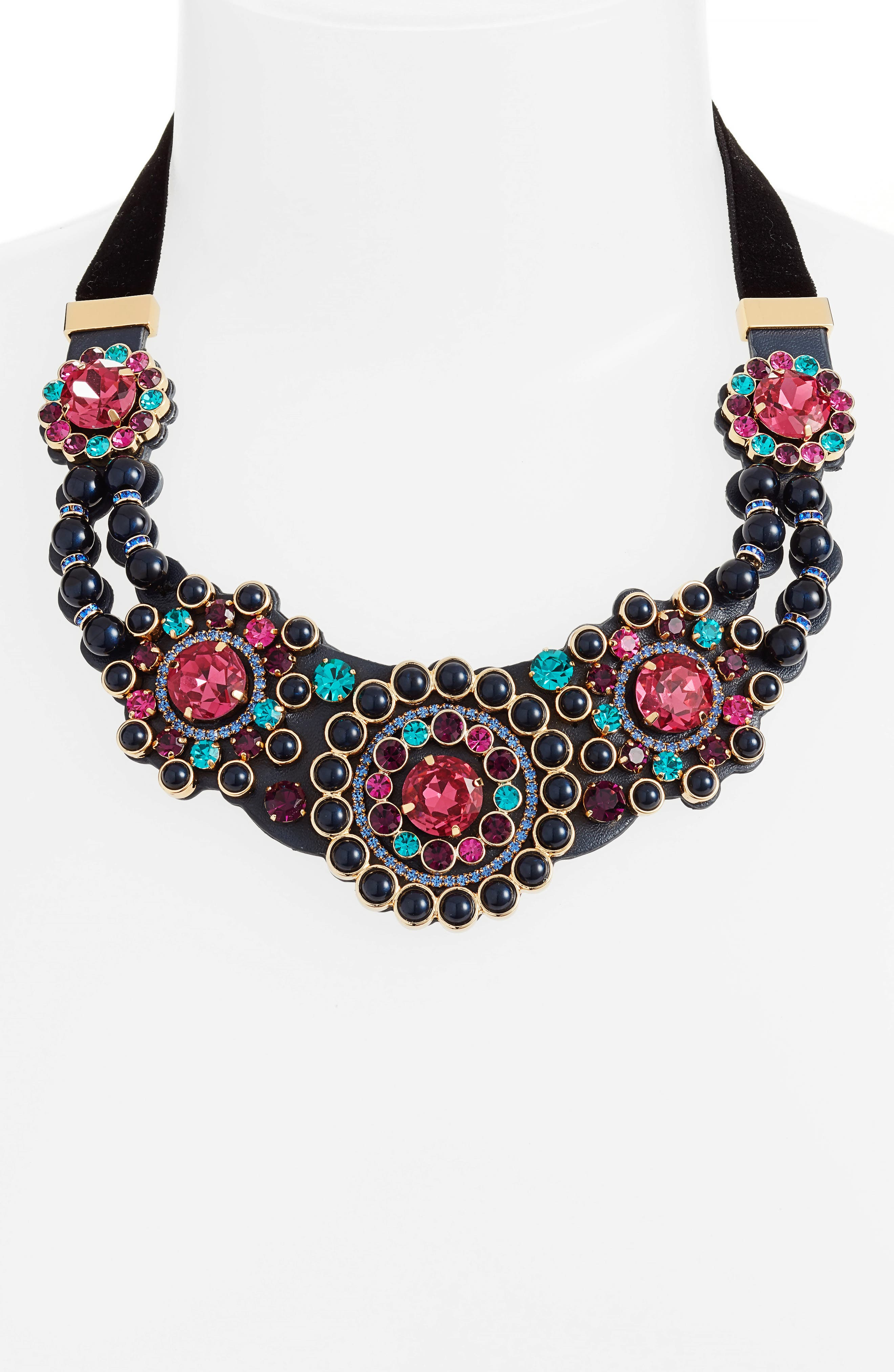 luminous small statement necklace,                             Alternate thumbnail 3, color,