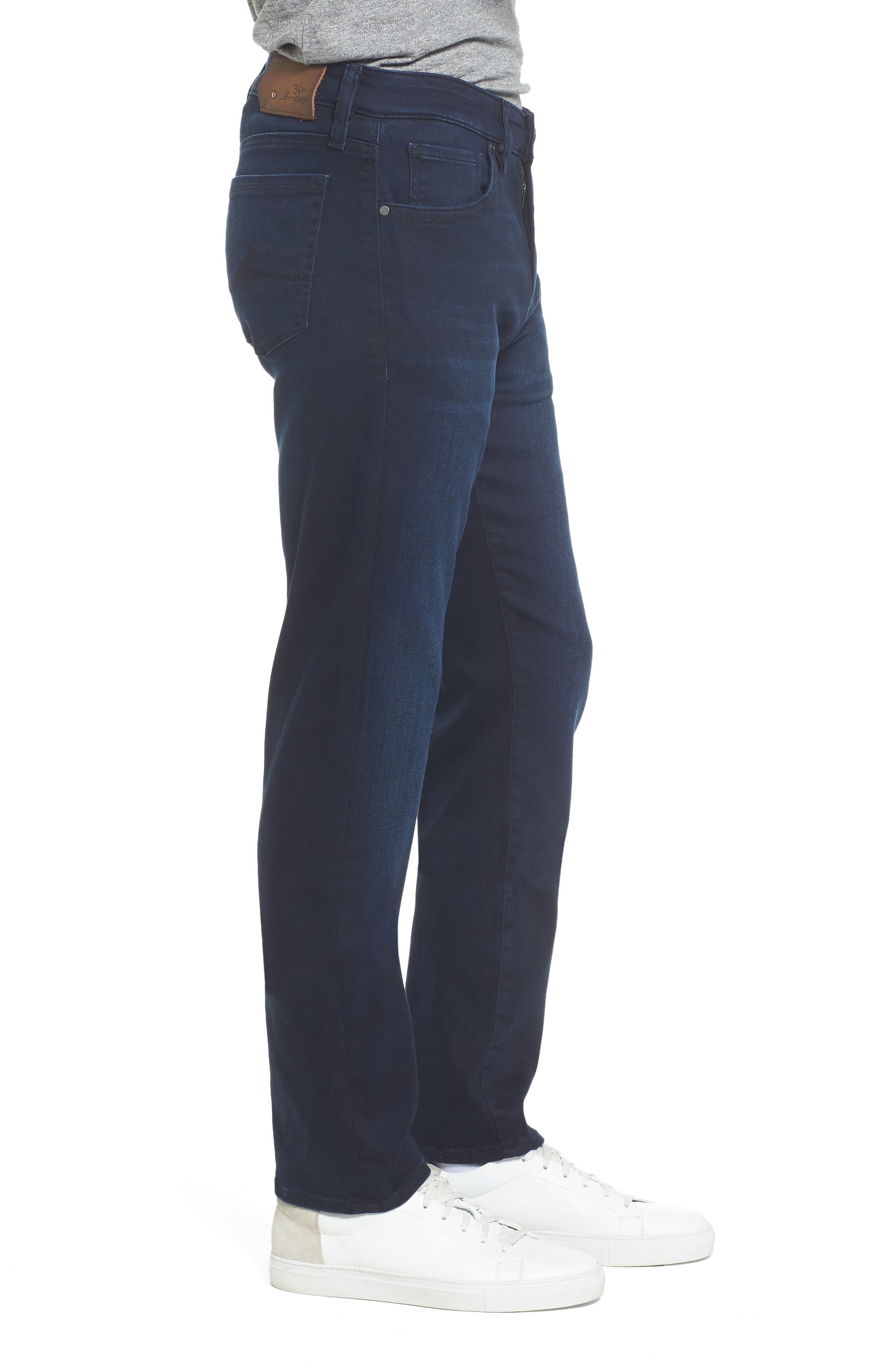 Courage Straight Fit Jeans,                             Alternate thumbnail 3, color,                             401
