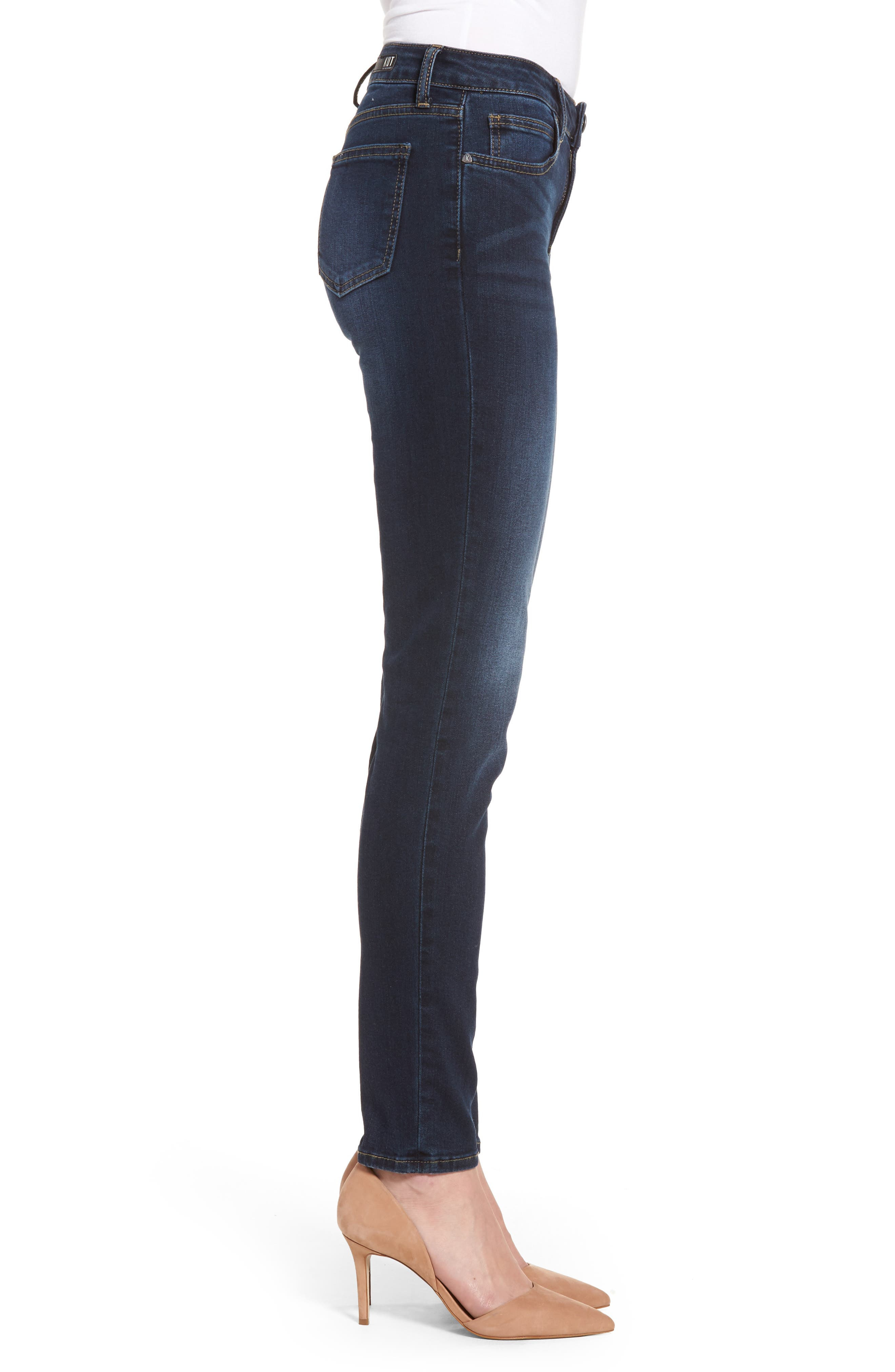 Diana Curvy Fit Skinny Jeans,                             Alternate thumbnail 3, color,