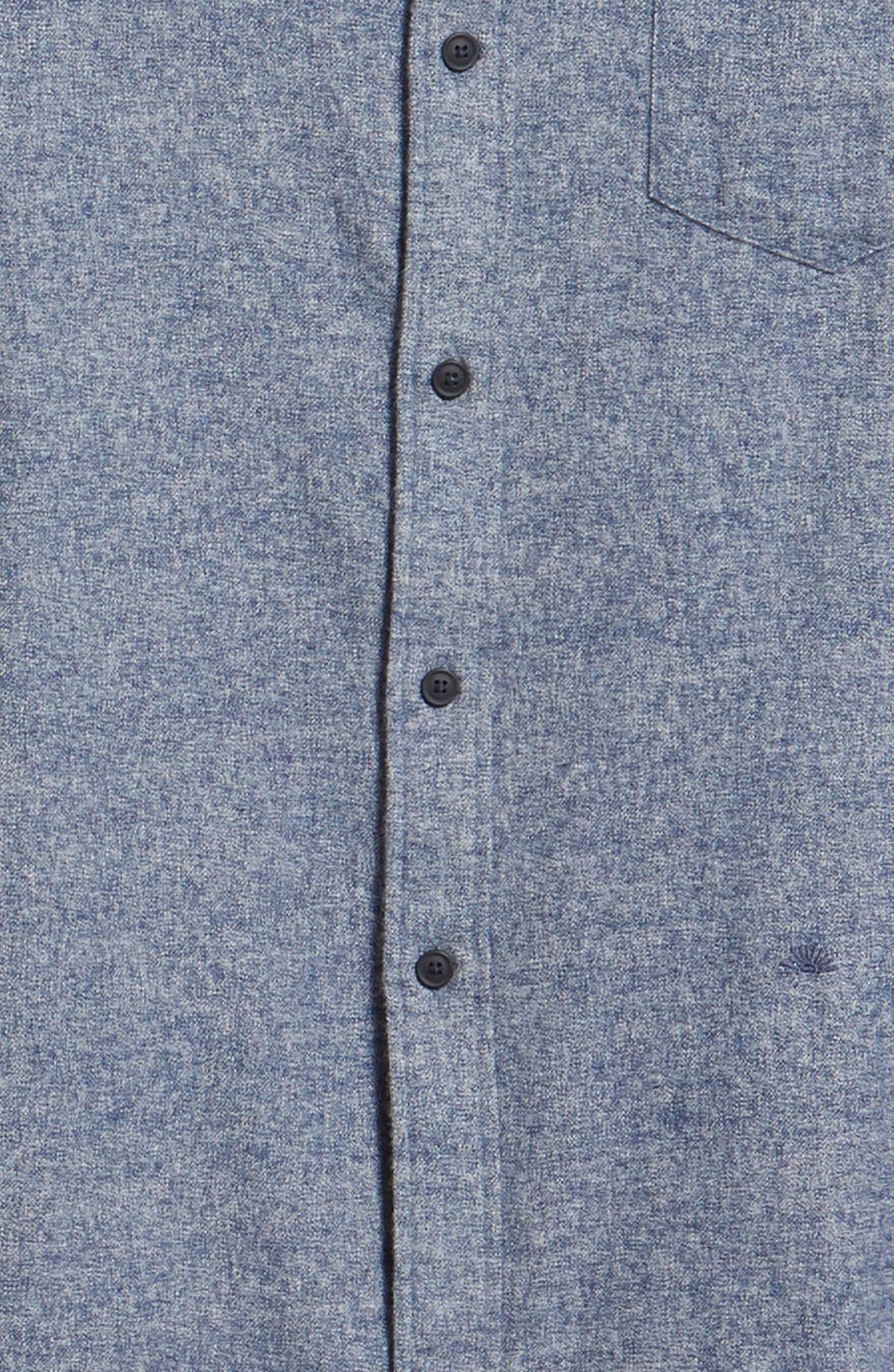 Levi's<sup>®</sup> Made & Crafted Standard Regular Fit Twill Shirt,                             Alternate thumbnail 6, color,                             400