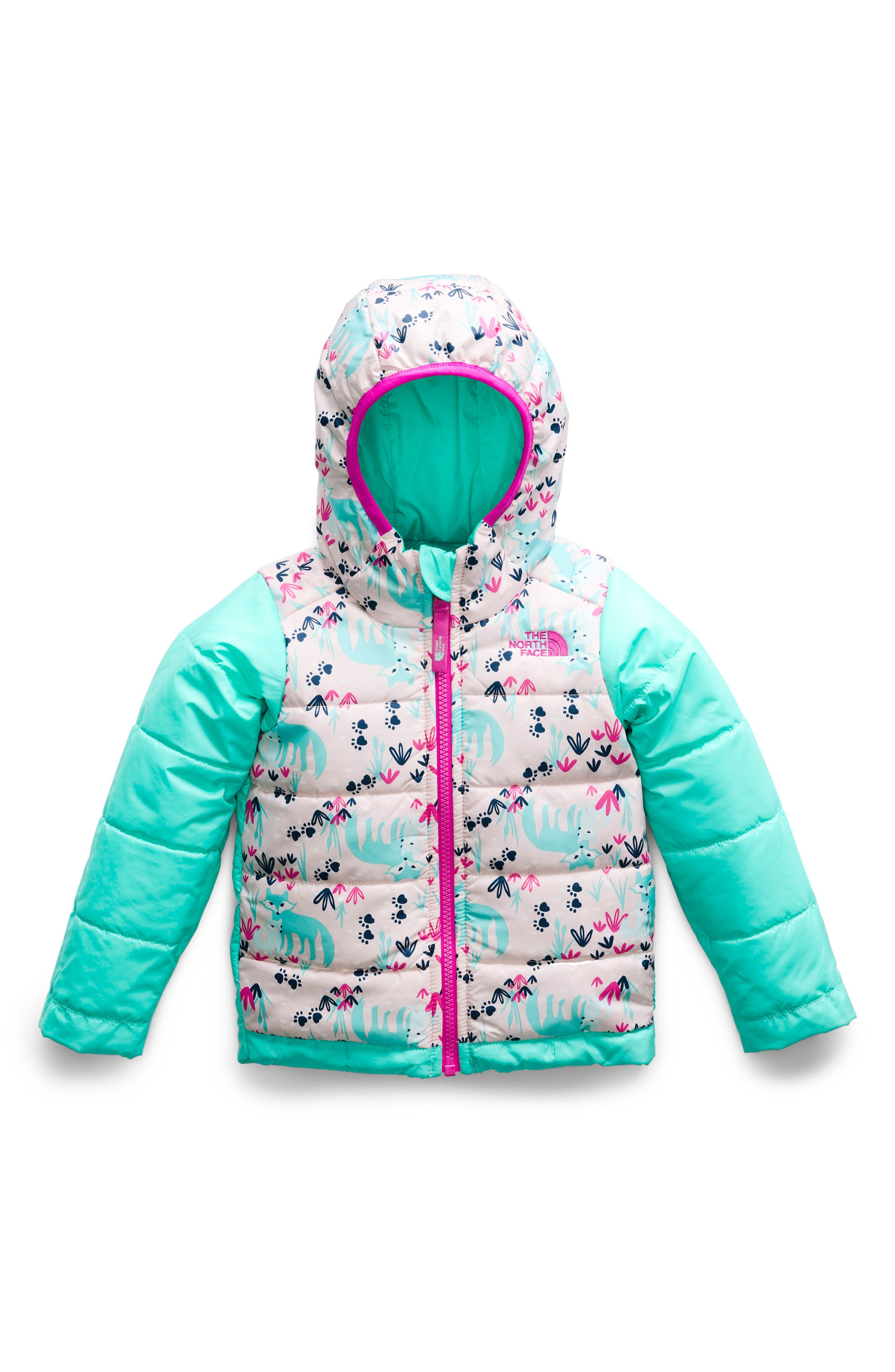 Perrito Reversible Water Repellent Heatseeker<sup>™</sup> Insulated Jacket,                             Alternate thumbnail 2, color,                             MINT BLUE