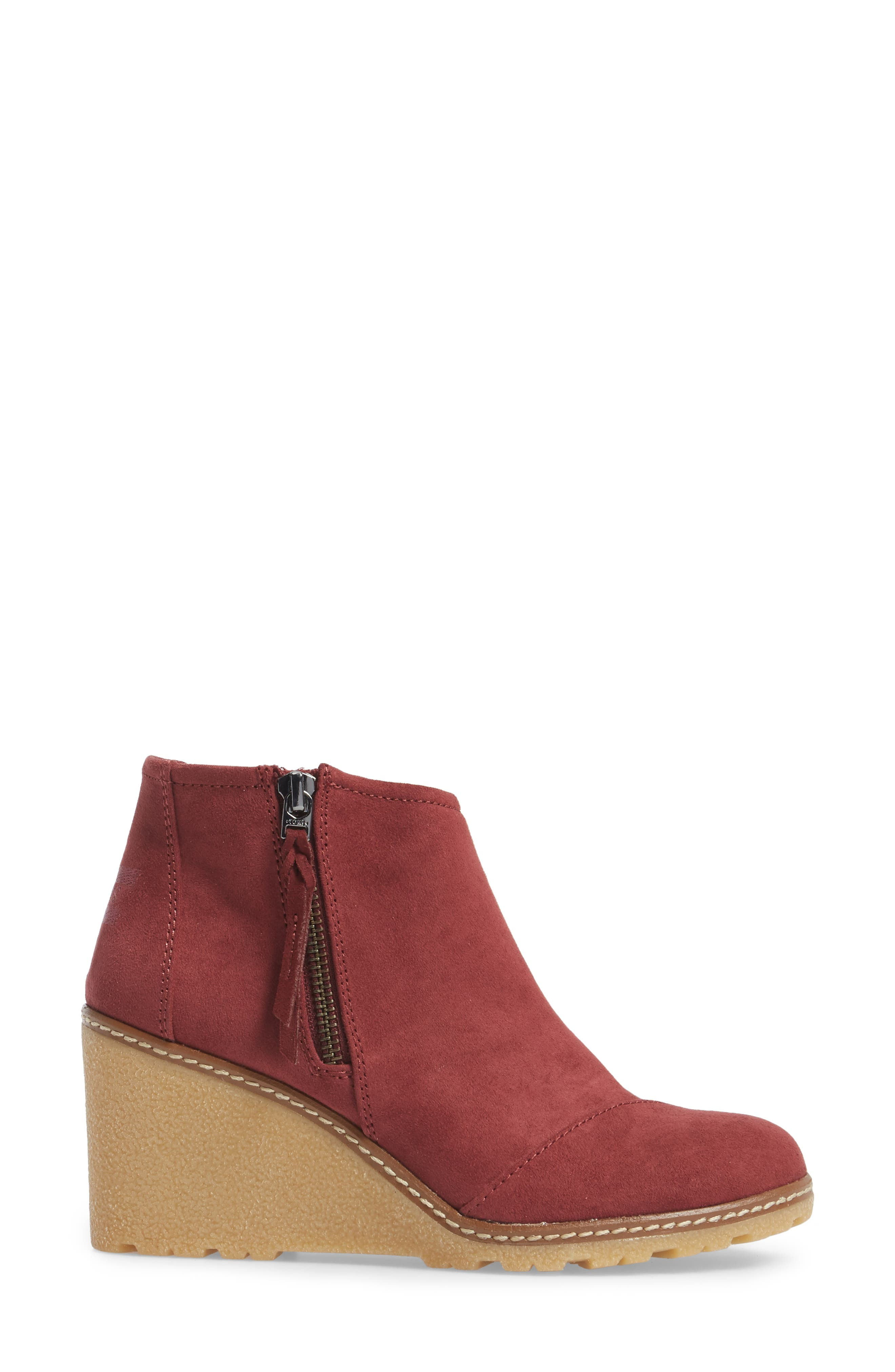 Avery Wedge Bootie,                             Alternate thumbnail 12, color,