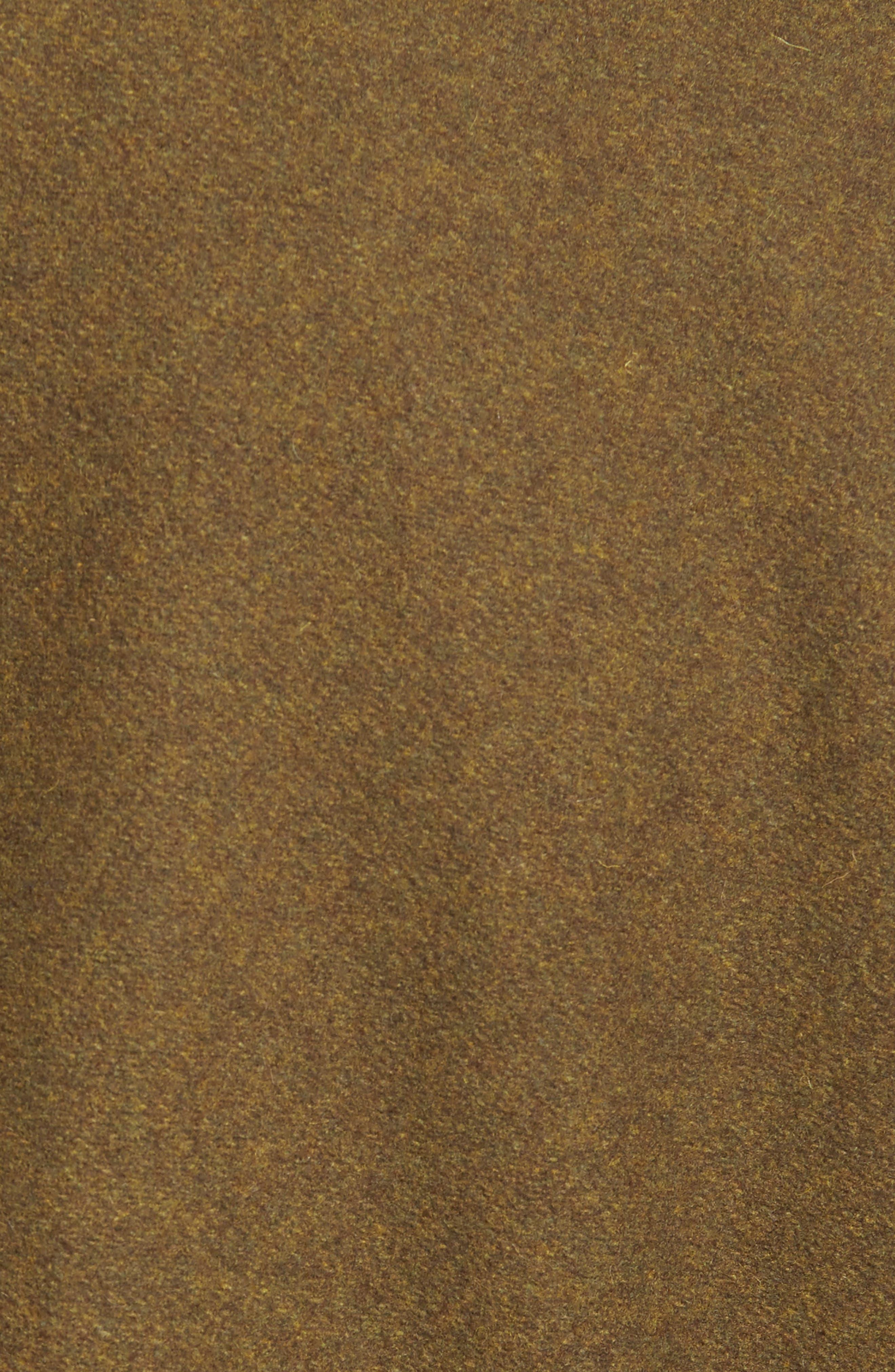 Embellished Slim Wool Blend Peacoat,                             Alternate thumbnail 17, color,
